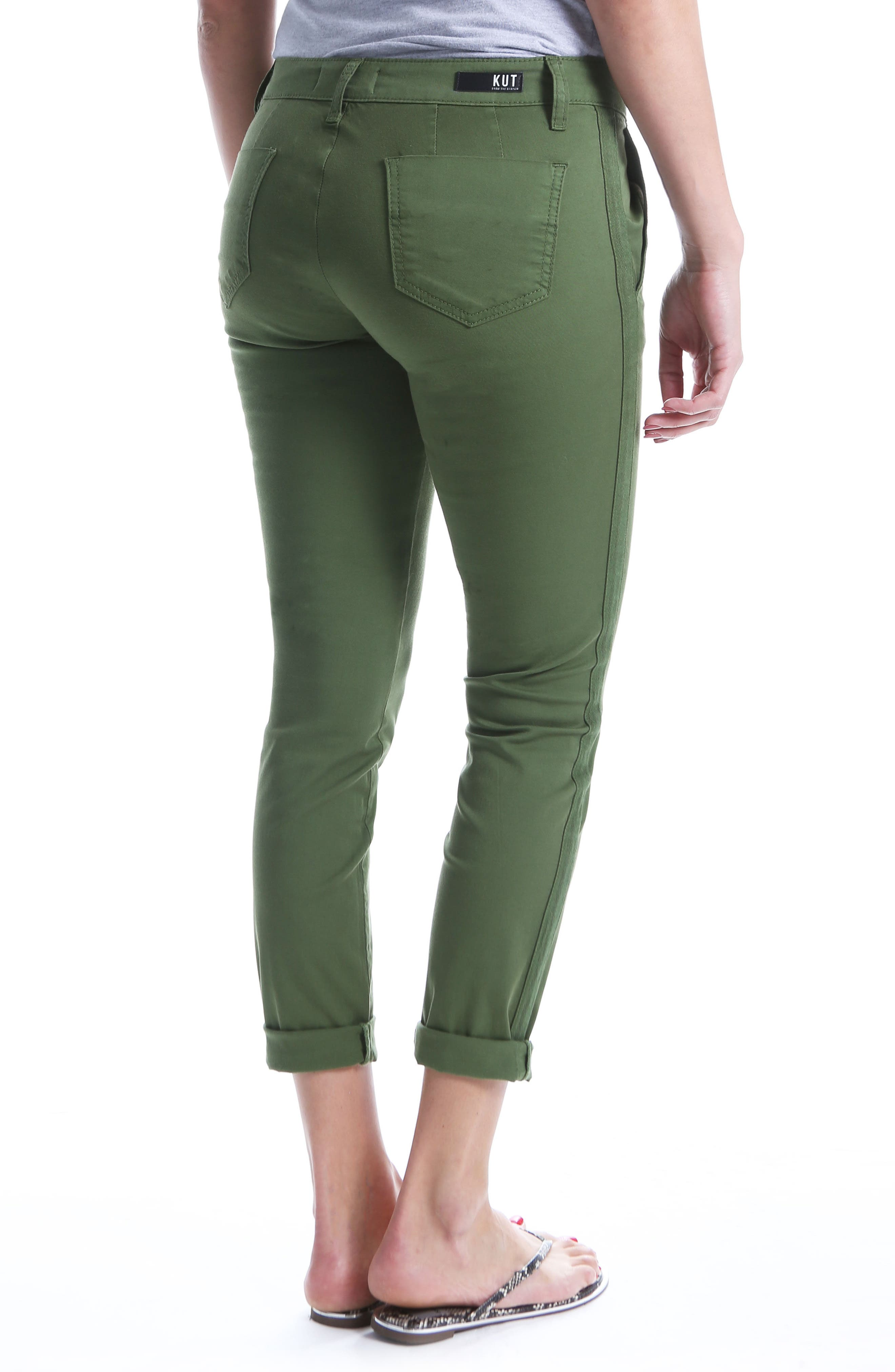 Alternate Image 2  - KUT from the Kloth Stretch Cotton Pants