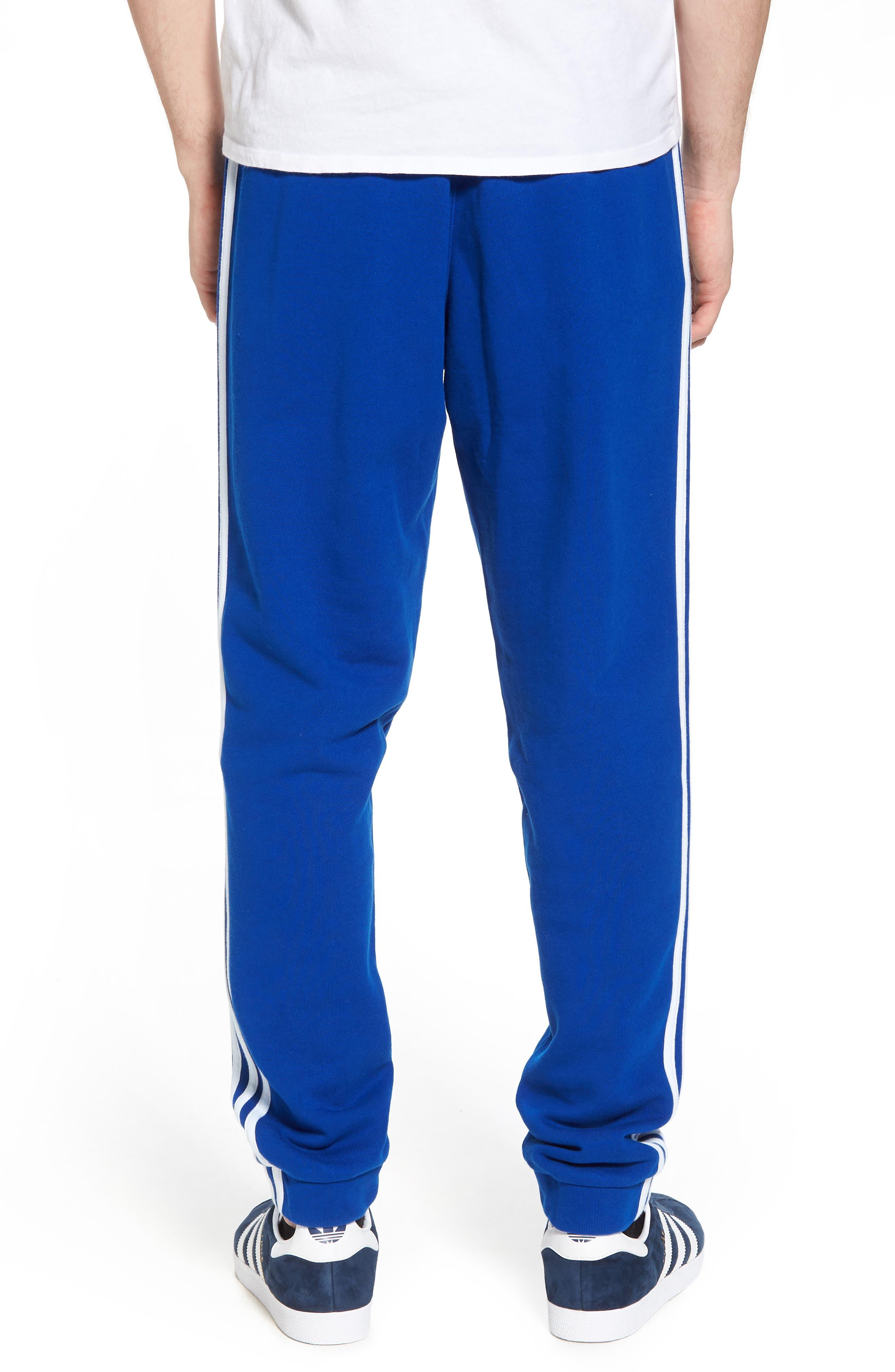 3-Stripes Sweatpants,                             Alternate thumbnail 2, color,                             Collegiate Royal