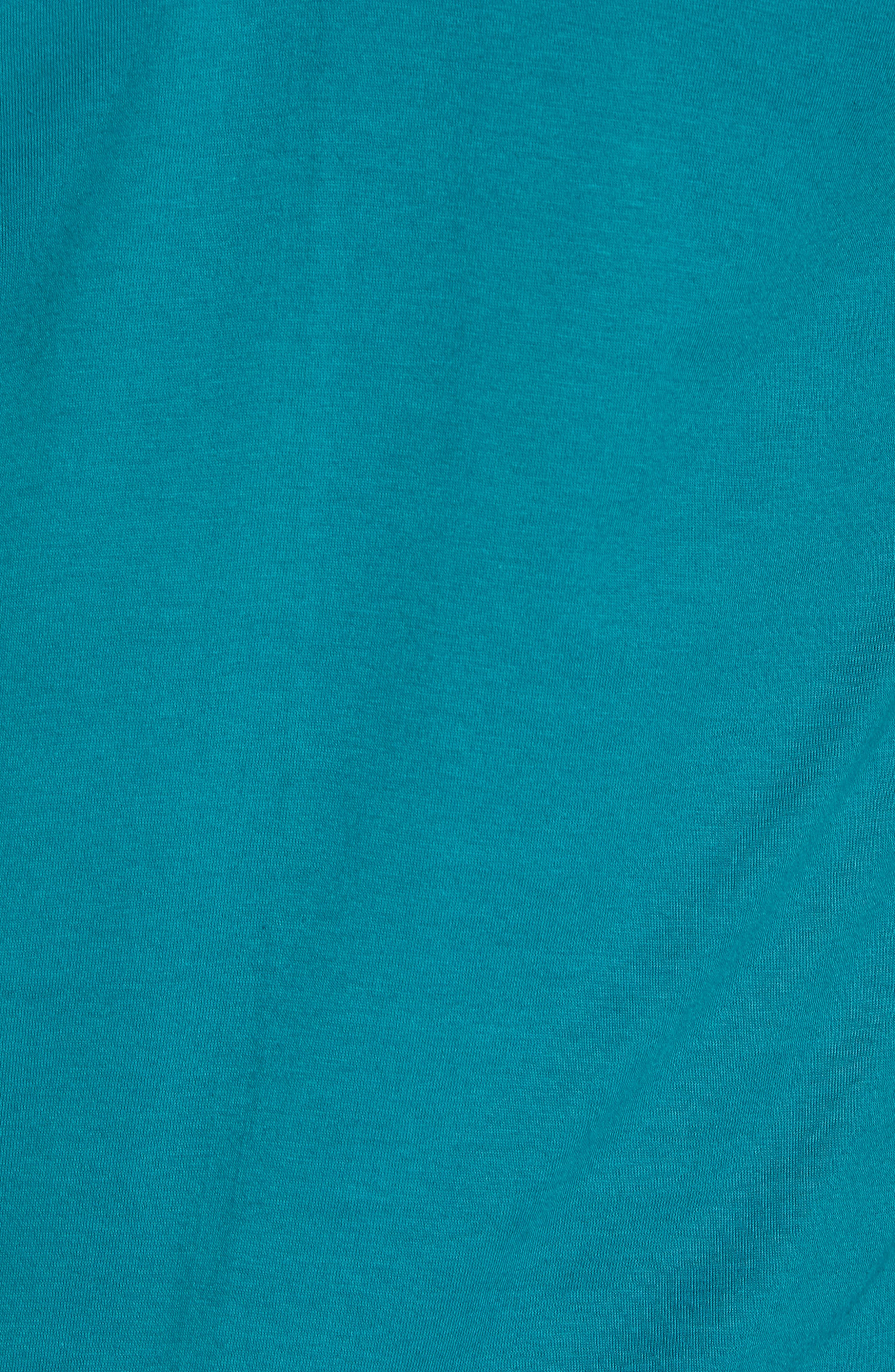Flashback Graphic T-Shirt,                             Alternate thumbnail 5, color,                             Teal