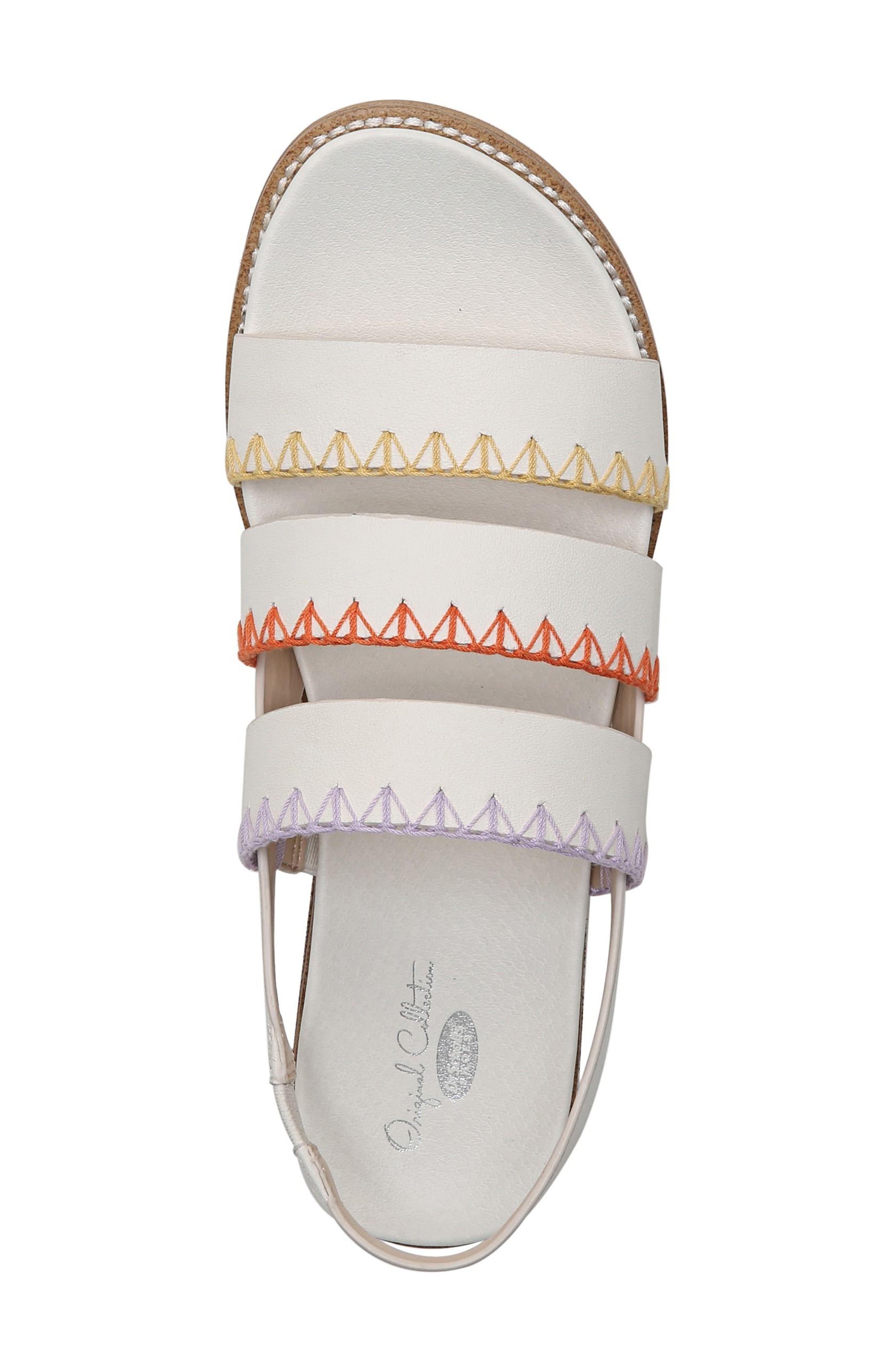 Discover Sandal,                             Alternate thumbnail 4, color,                             Marshmallow Leather