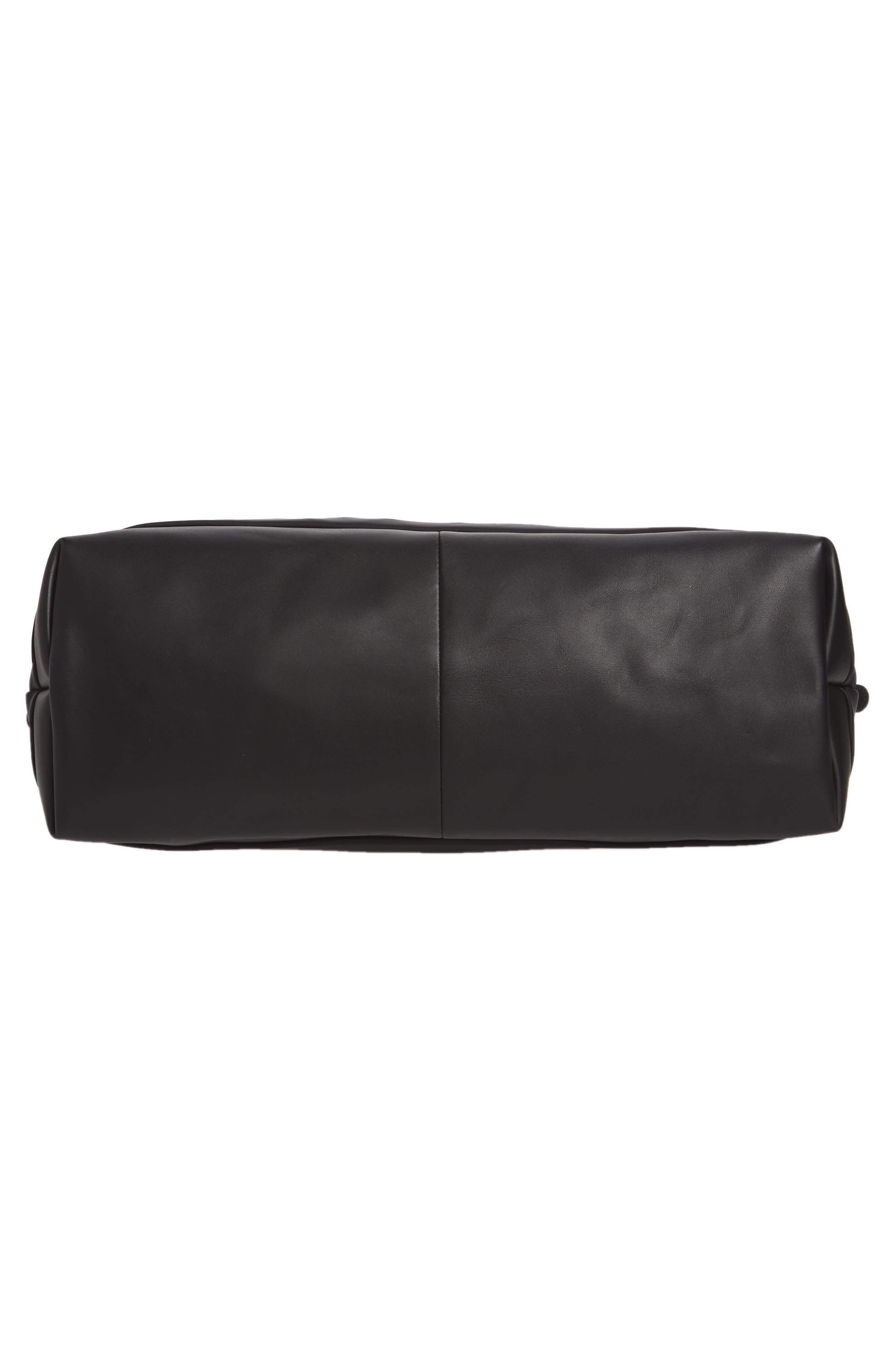 Hartsfield Nylon Tote Bag,                             Alternate thumbnail 6, color,                             Black Nylon
