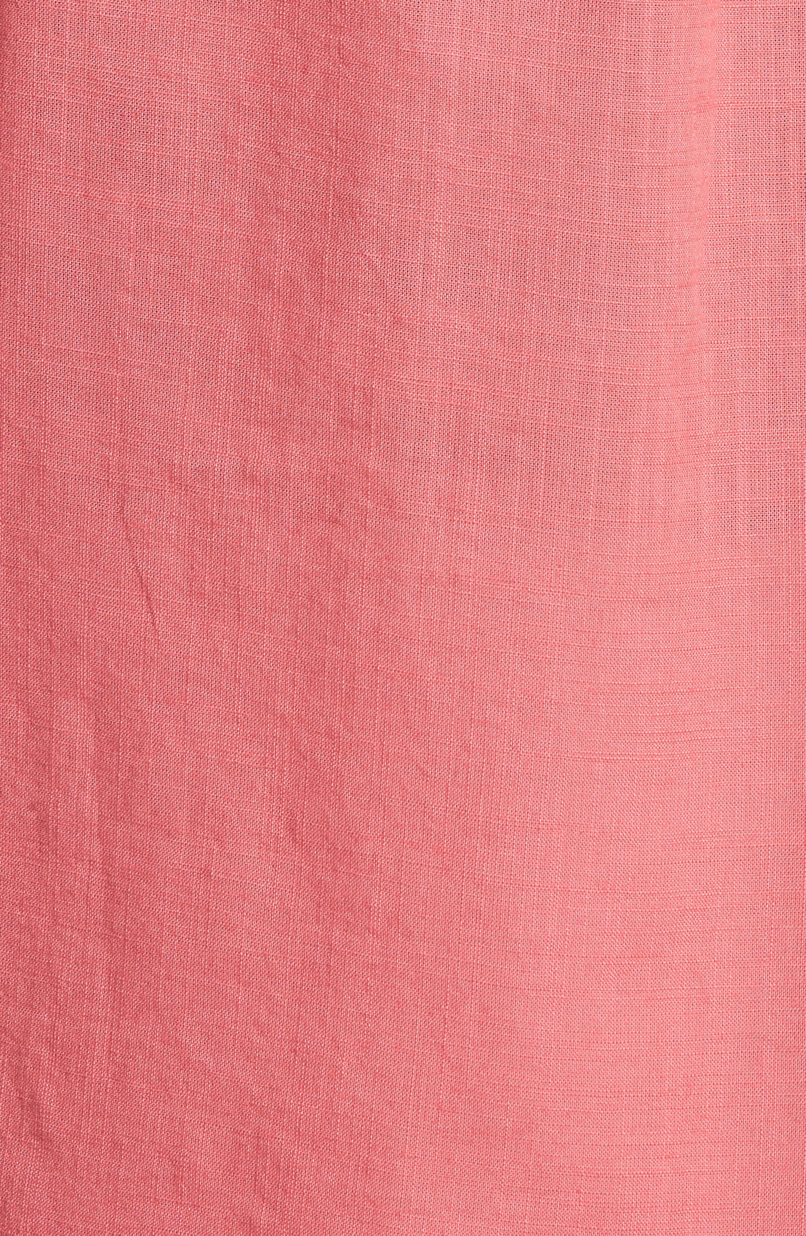 Brodie Regular Fit Sport Shirt,                             Alternate thumbnail 5, color,                             Calypso