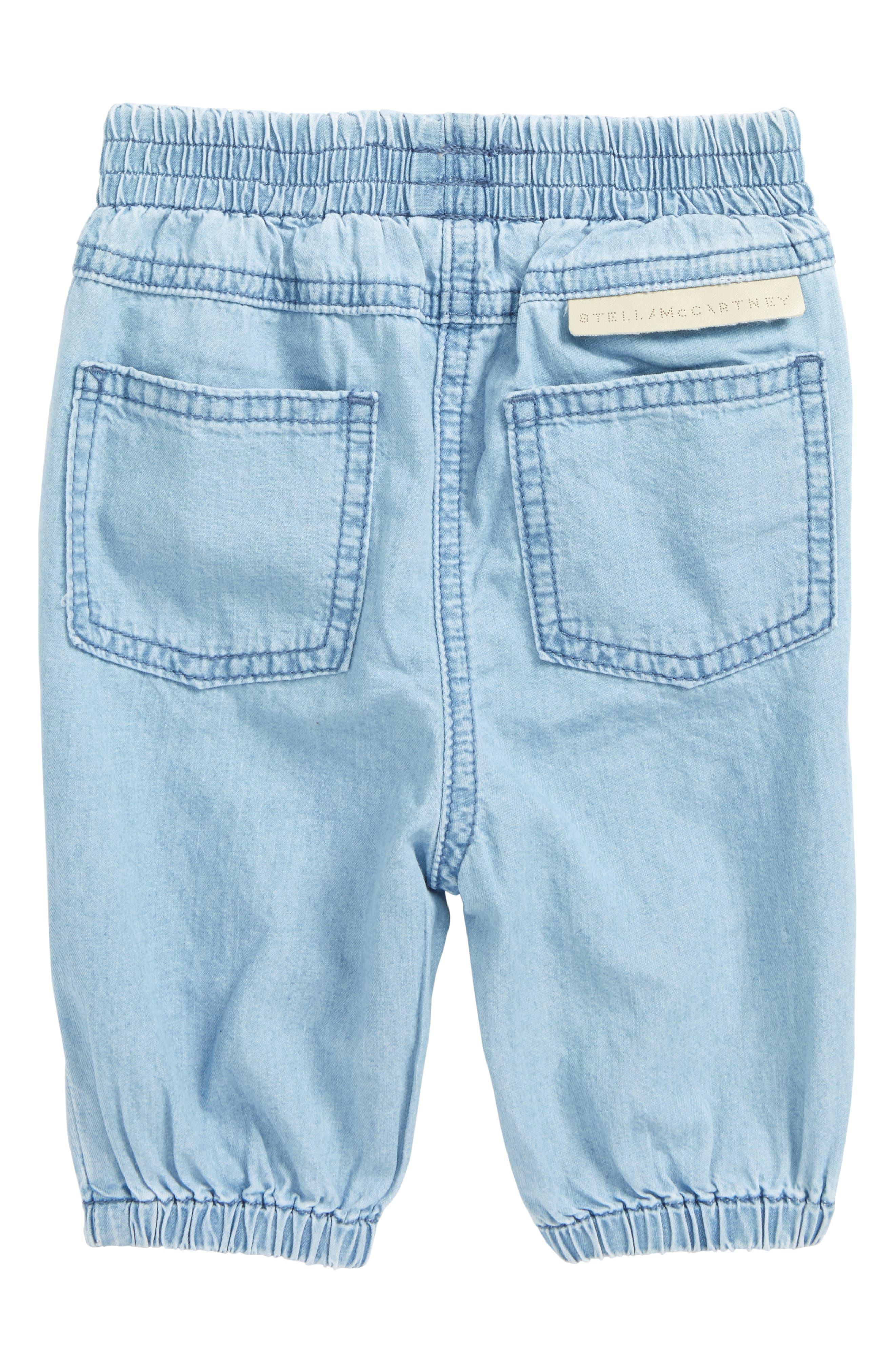 Pipkin Chambray Pants,                             Alternate thumbnail 2, color,                             Denim