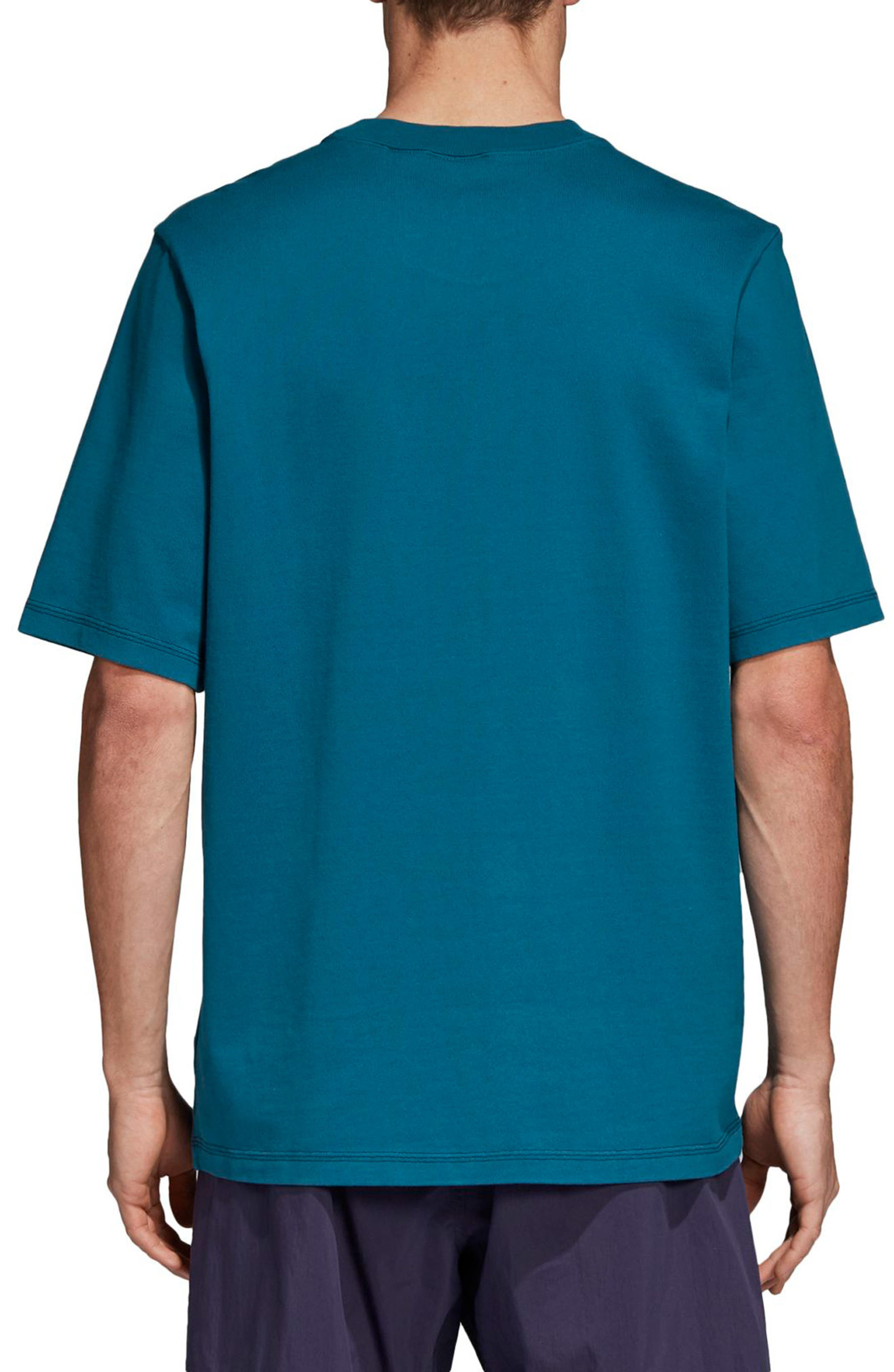 Adventure Graphic T-Shirt,                             Alternate thumbnail 2, color,                             Real Teal