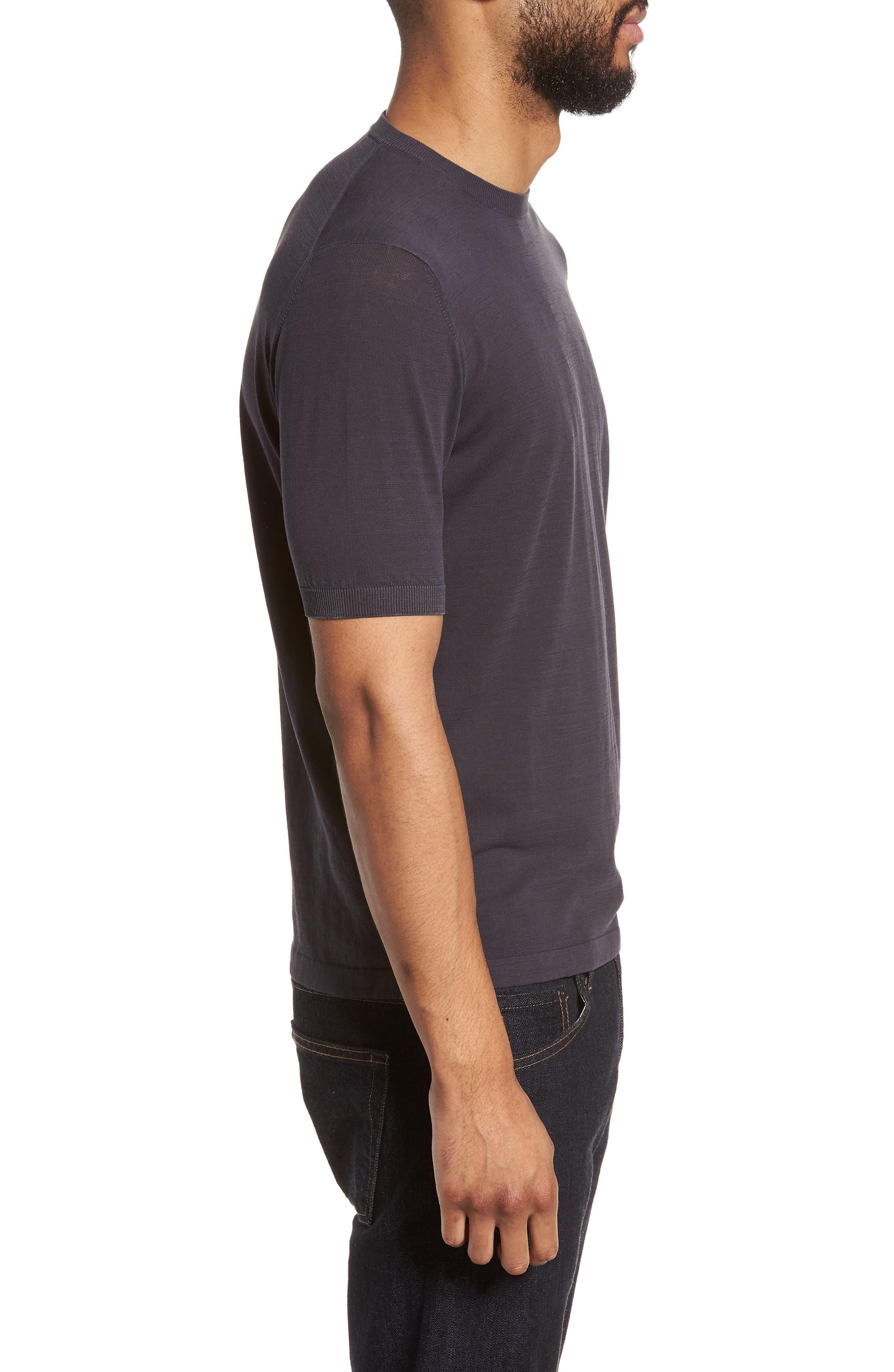 Alternate Image 3  - Eleventy Fresco Crewneck Cotton T-Shirt