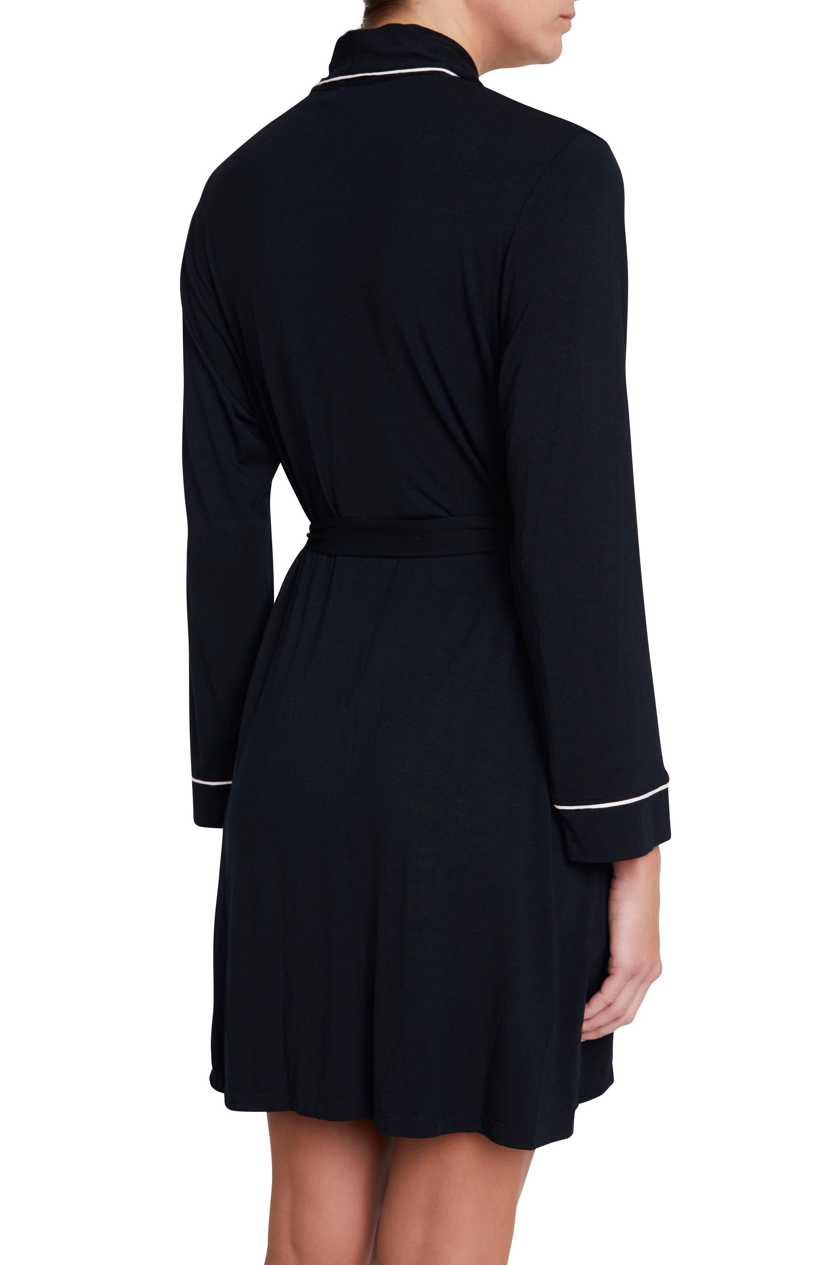 Alternate Image 2  - Eberjey Gisele Classic Robe