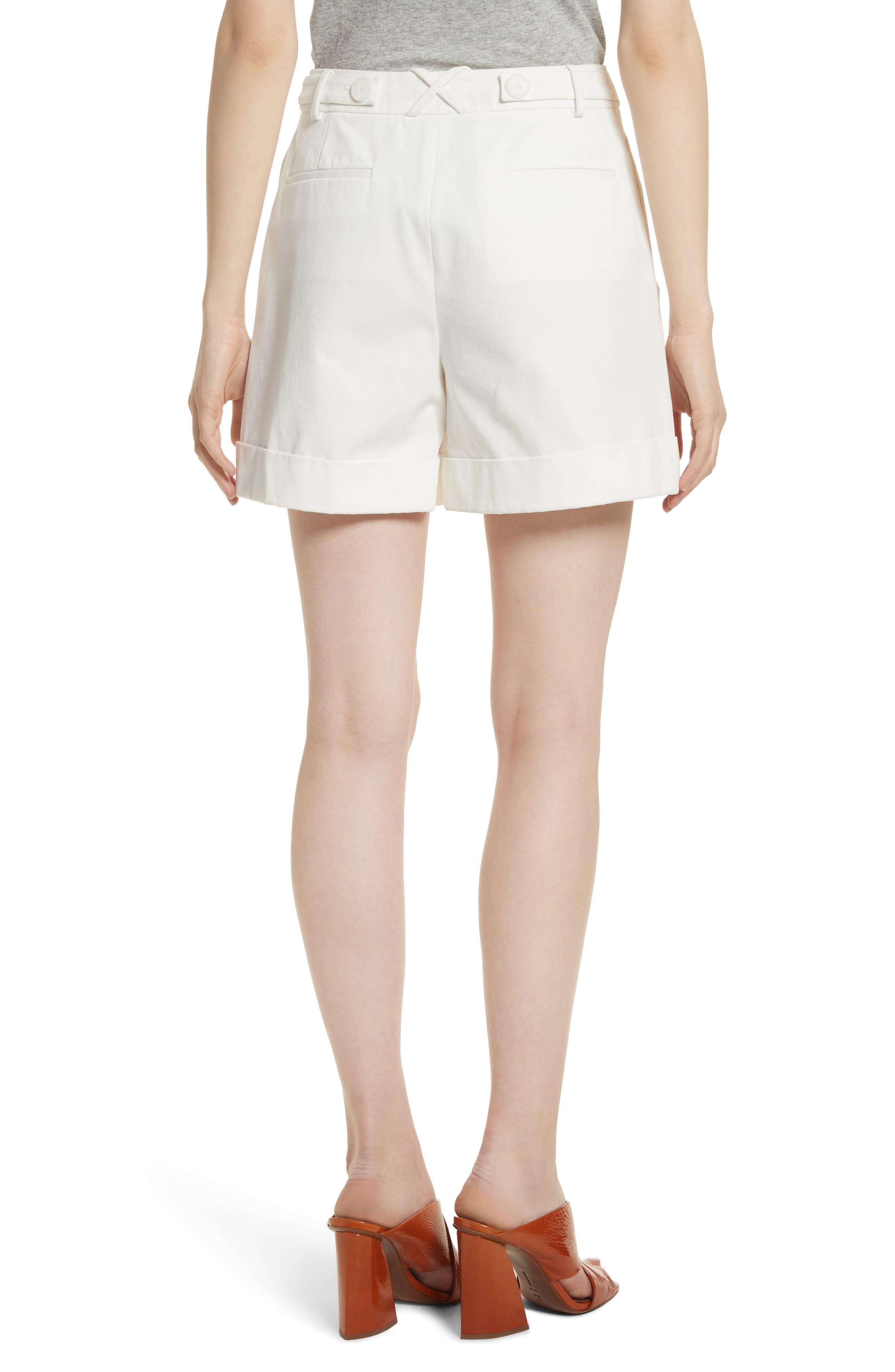 Stretch Cotton Sailor Shorts,                             Alternate thumbnail 2, color,                             Star White