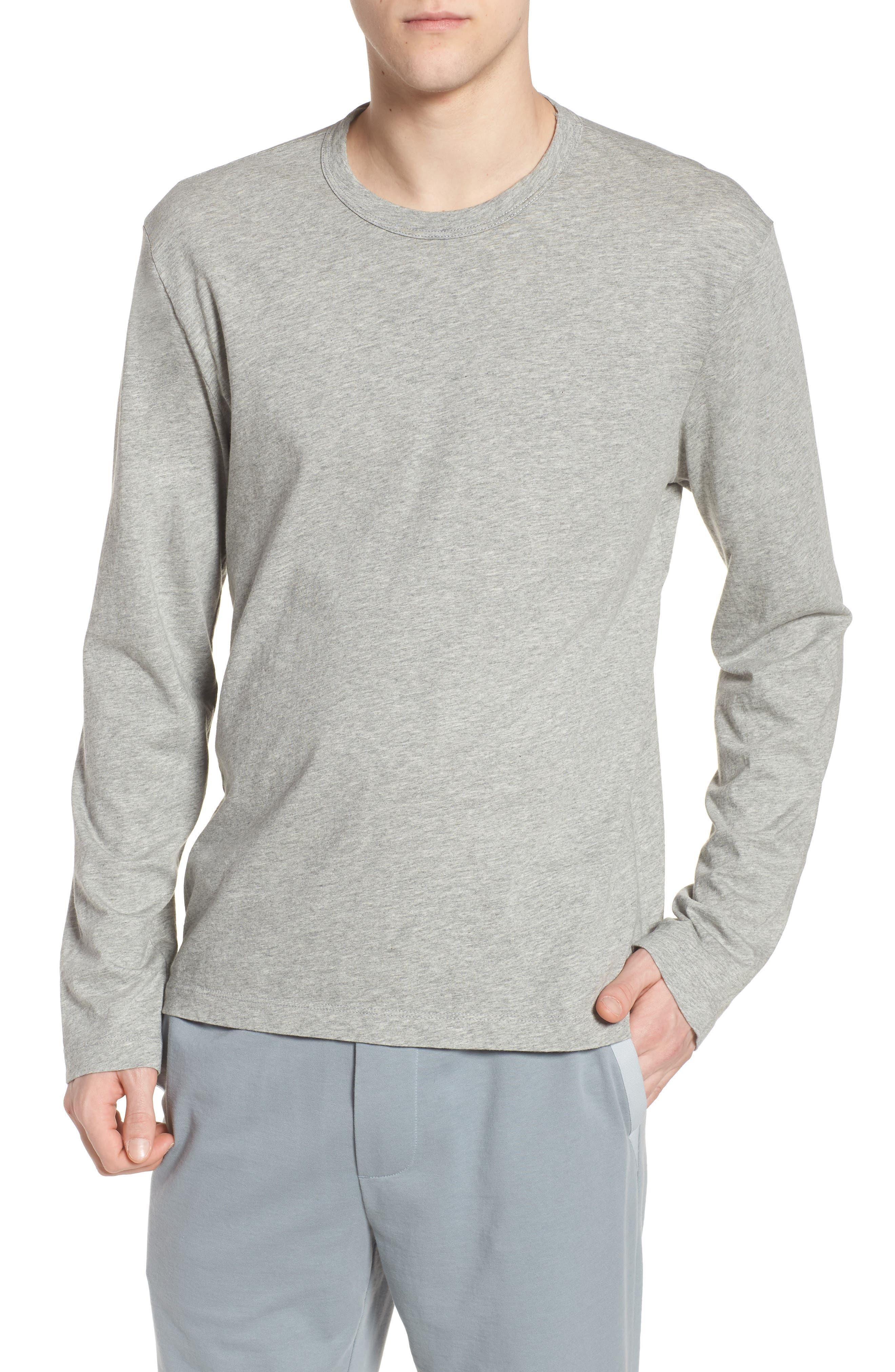 Alternate Image 1 Selected - James Perse Crewneck Cotton Sweatshirt