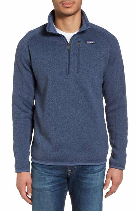 fa40857e34334 Patagonia Better Sweater Quarter Zip Fleece Lined Pullover