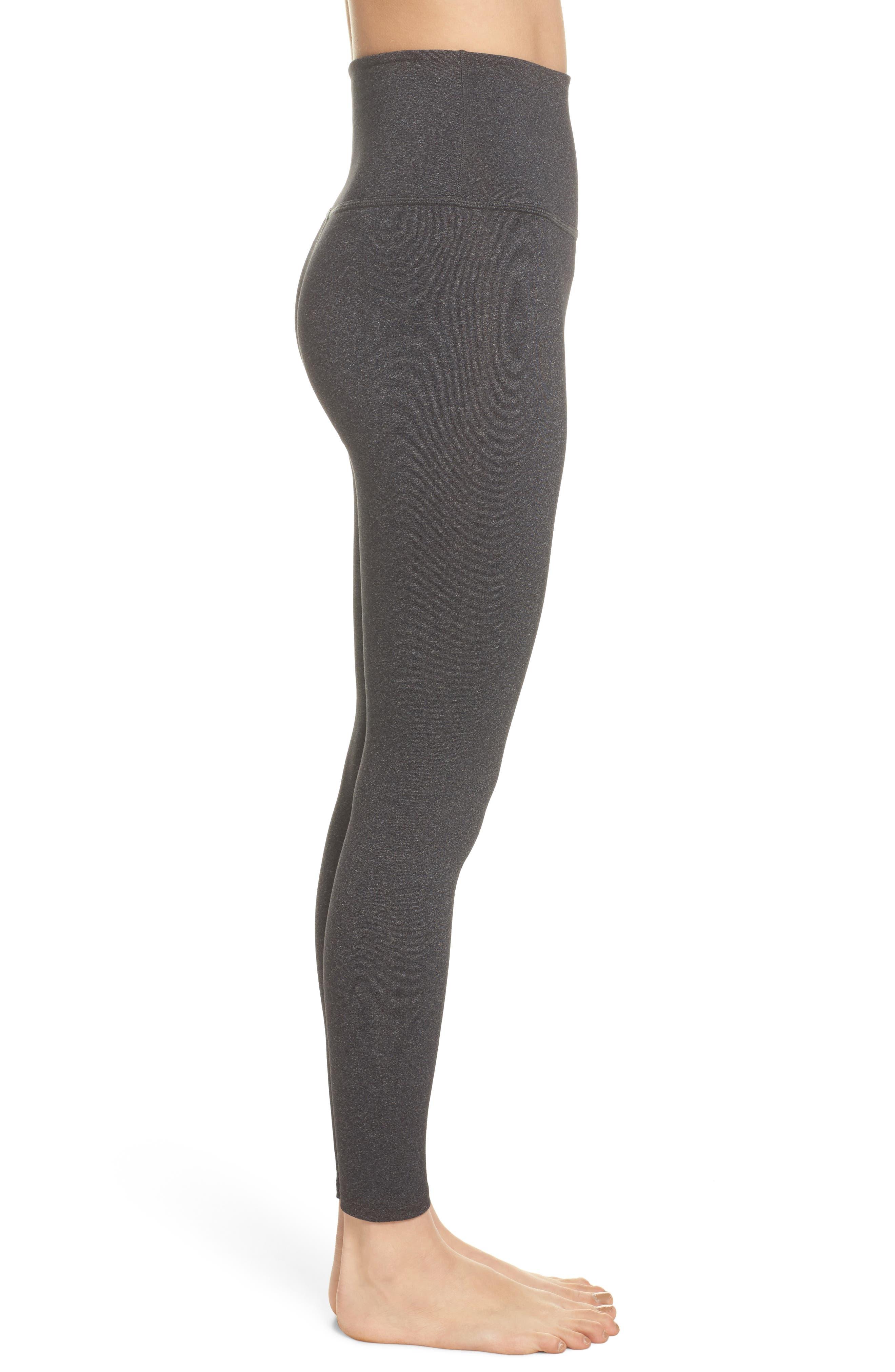 Alternate Image 3  - Beyond Yoga High Waist Midi Leggings