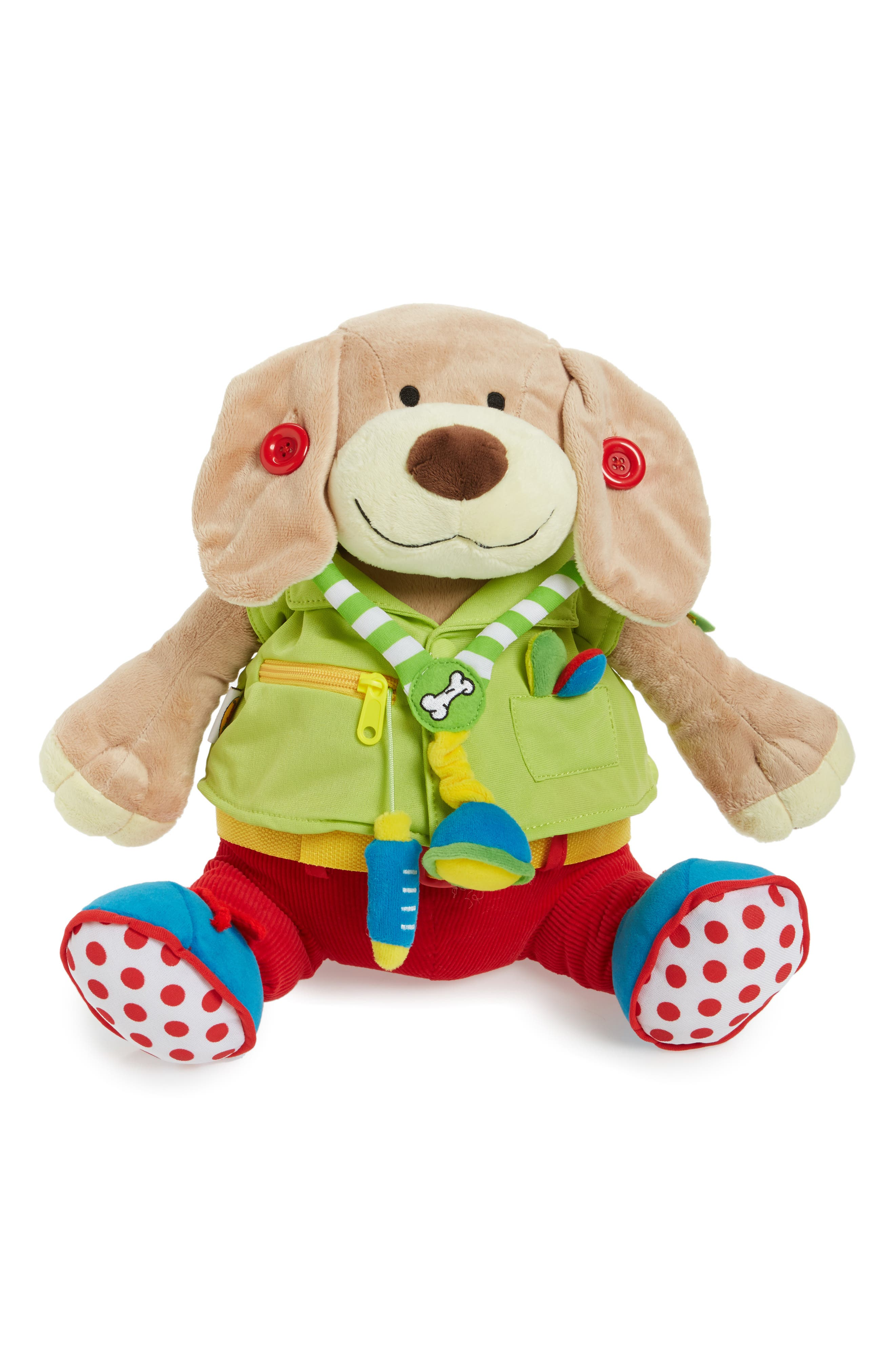 edushape Dr Pooch Stuffed Activity Toy