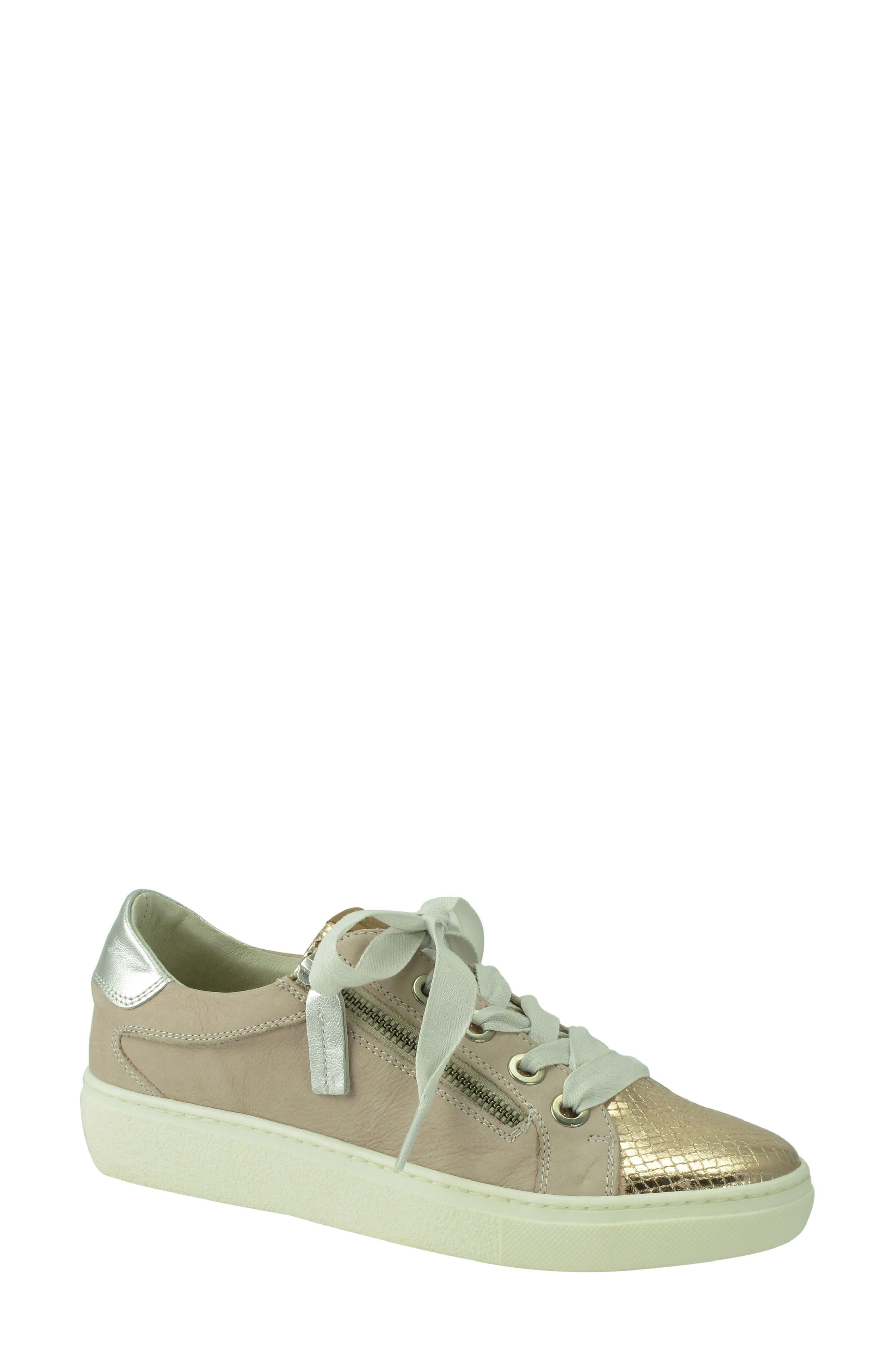 Orabella Weatherproof Sneaker,                         Main,                         color, Blush Nubuck