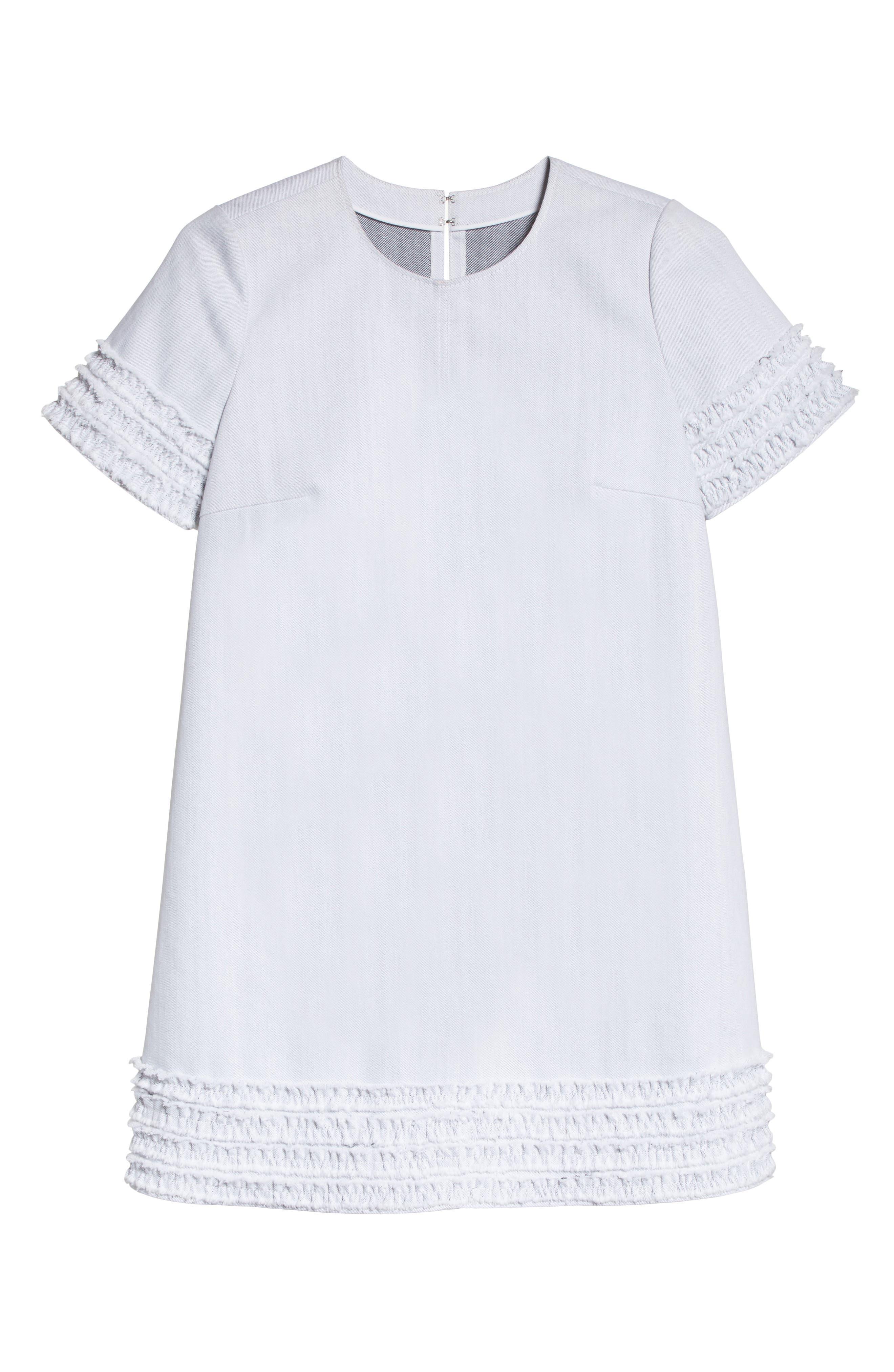 Ashton Dress,                             Alternate thumbnail 6, color,                             White