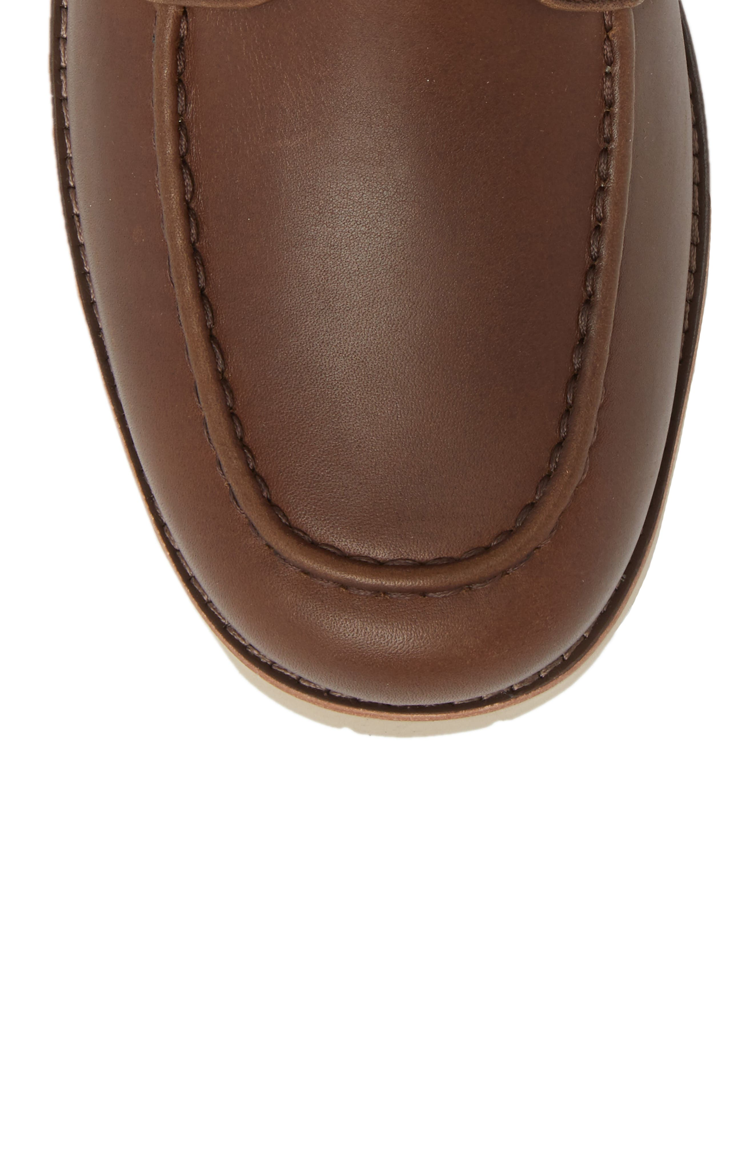 Agnar Moc Toe Boot,                             Alternate thumbnail 5, color,                             Grizzly