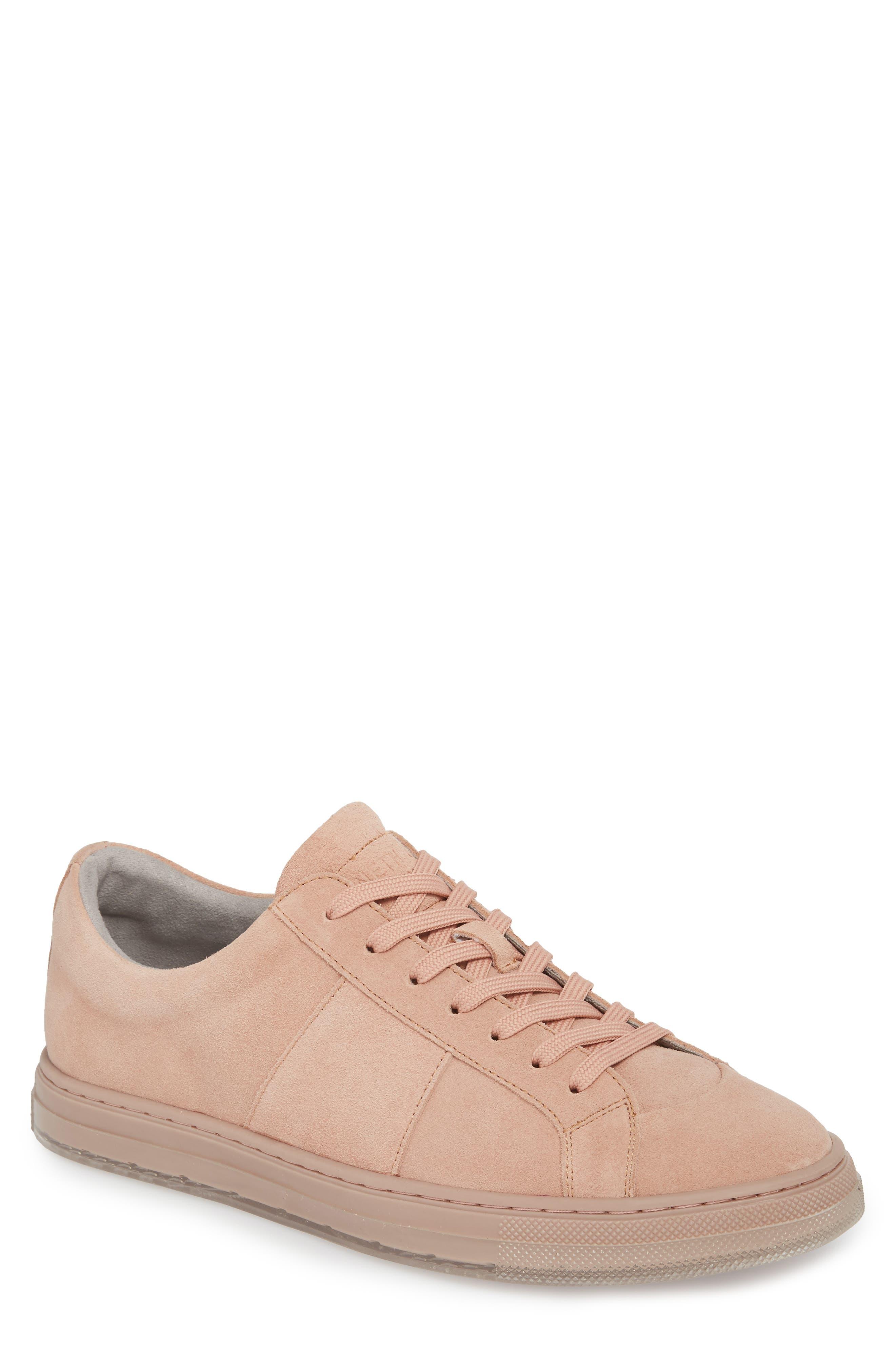Colvin Sneaker,                         Main,                         color, Rose Suede