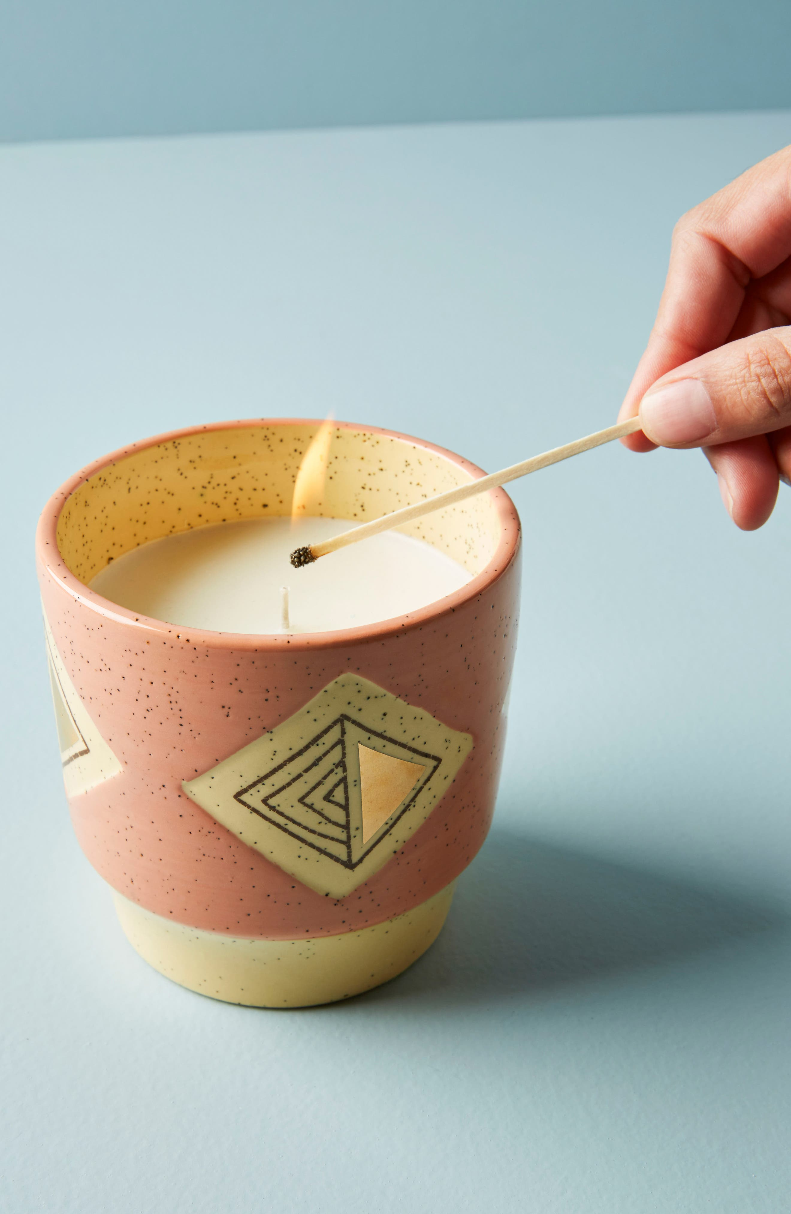 Ontario Candle,                         Main,                         color, Rosewater