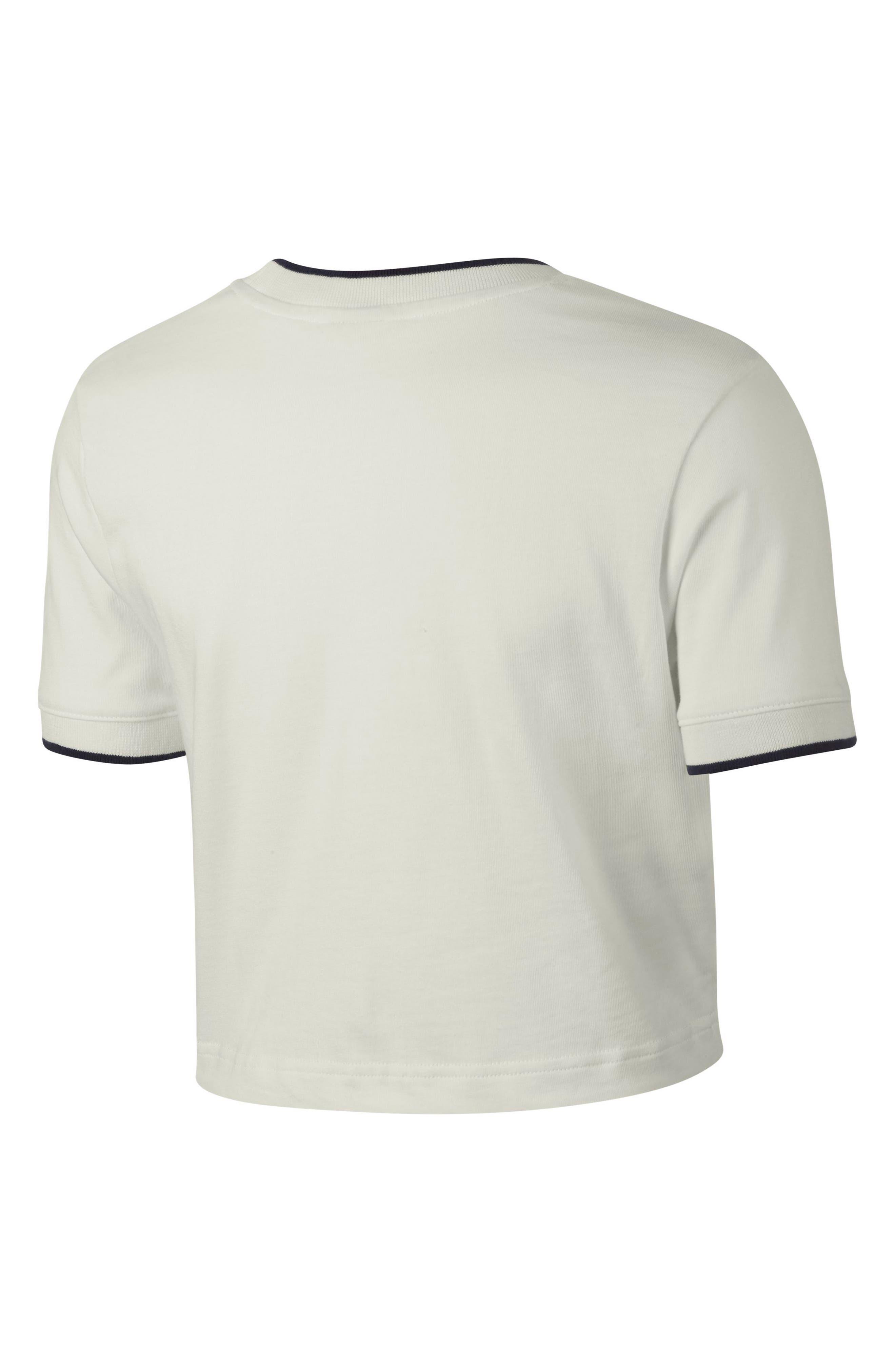 Sportswear Crop Top,                             Alternate thumbnail 7, color,                             Sail