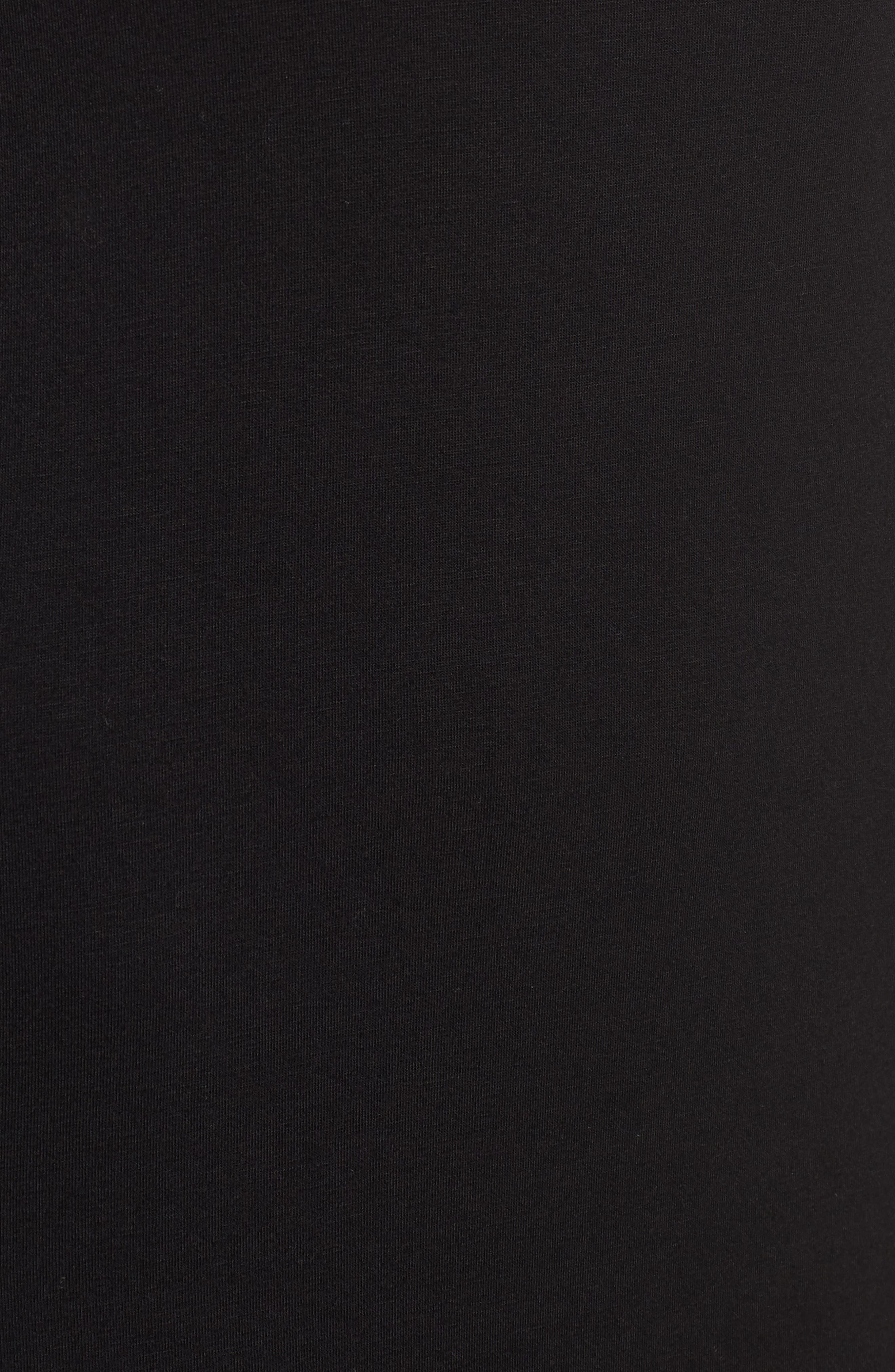 Kendo Dress,                             Alternate thumbnail 5, color,                             Black