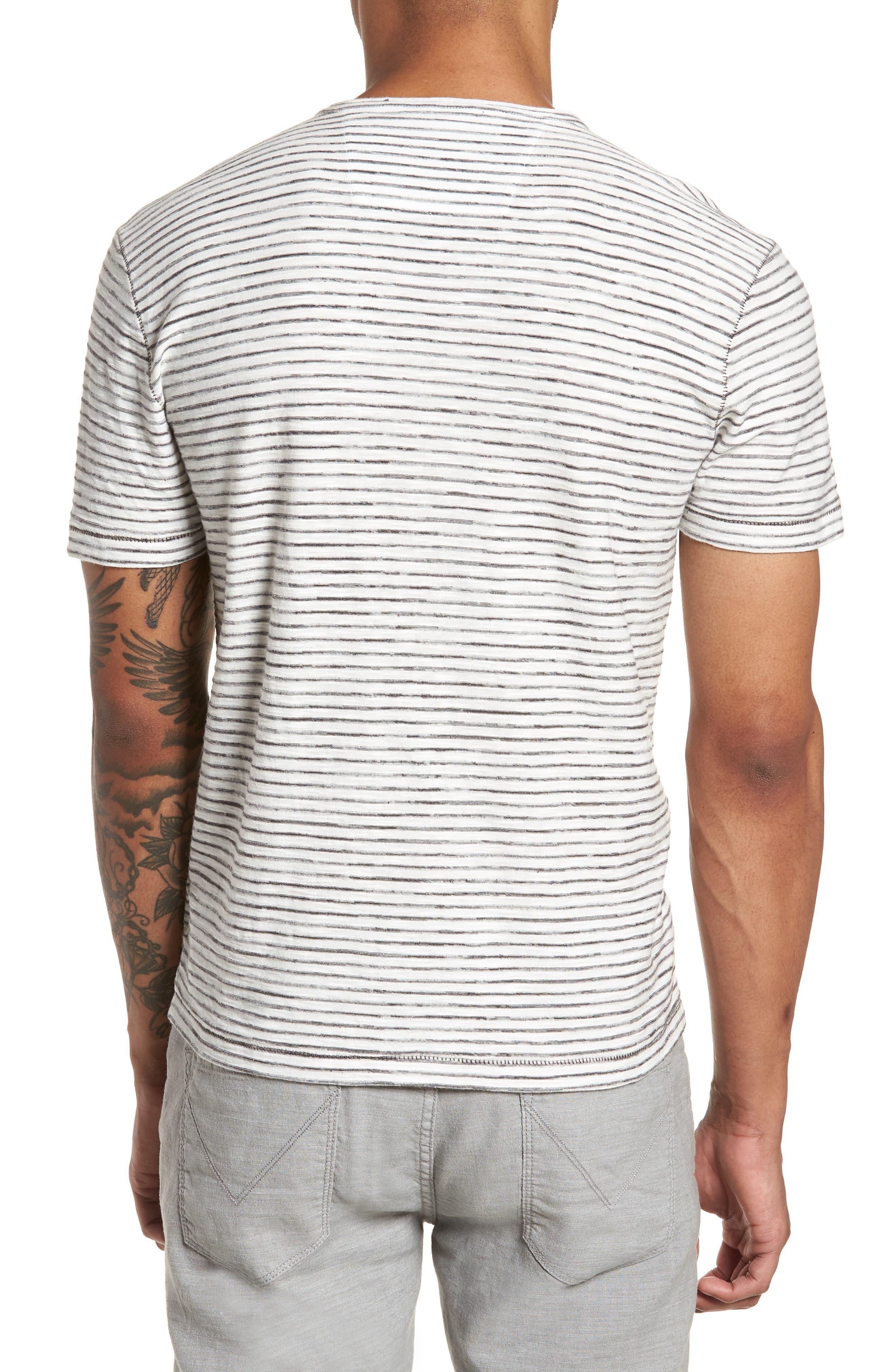 Slim Fit T-Shirt,                             Alternate thumbnail 2, color,                             White