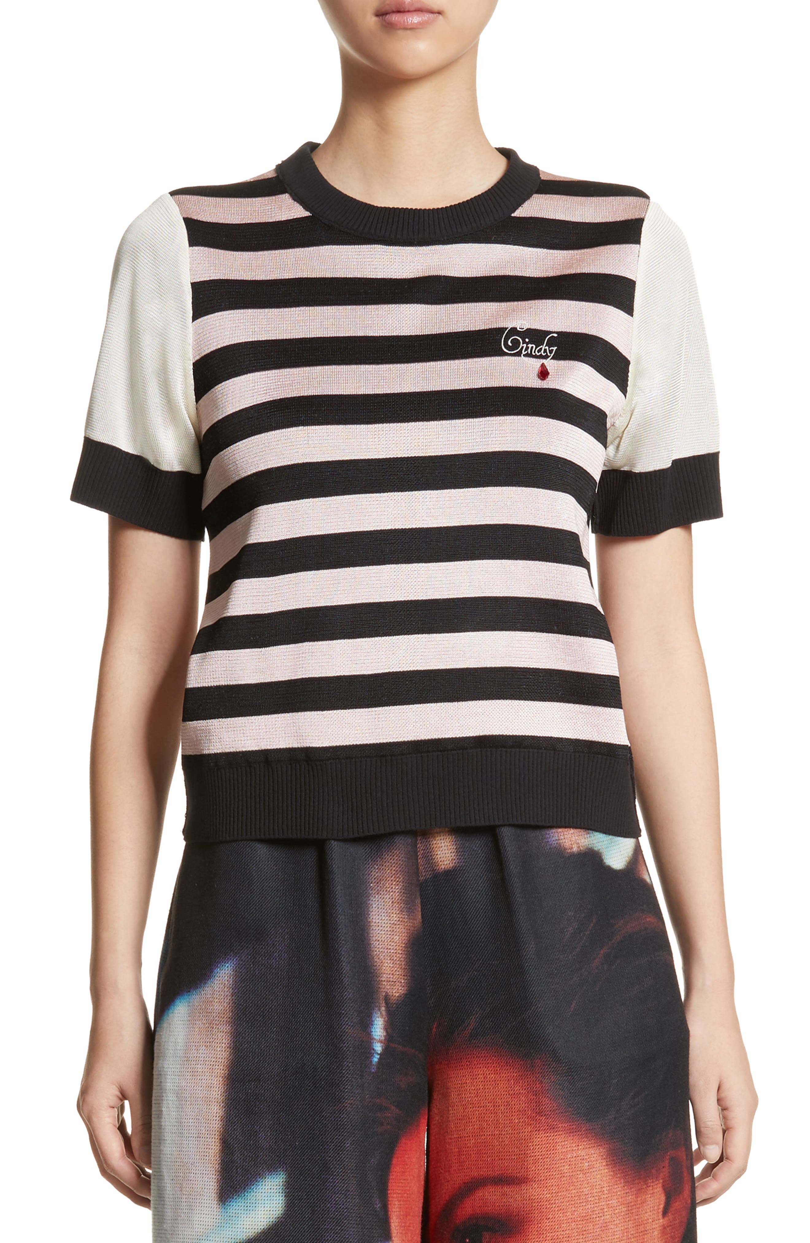 Undercover Cindy Stripe Reversible Tee