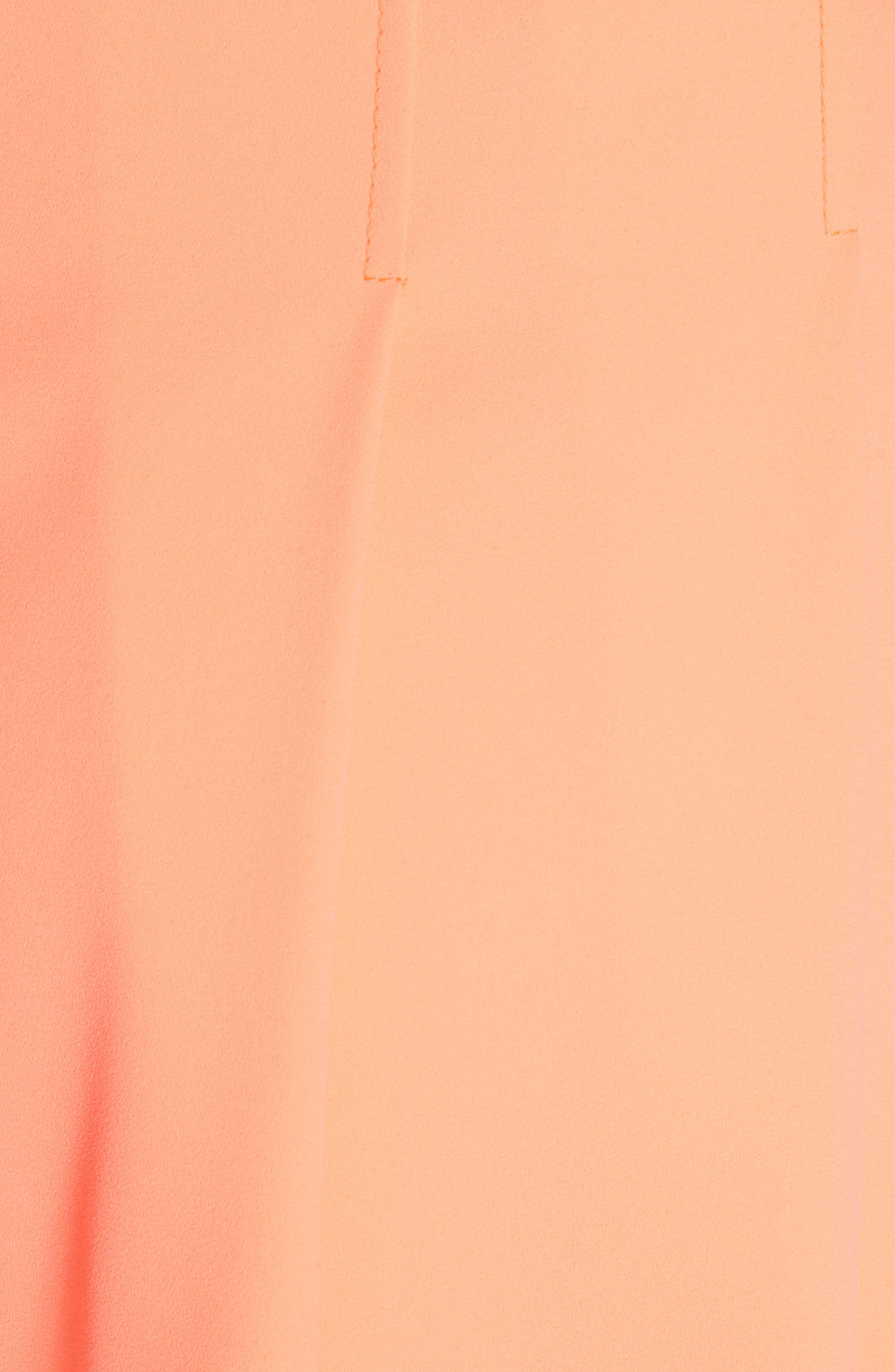 Scarlet Flutter Shorts,                             Alternate thumbnail 5, color,                             Neon Coral