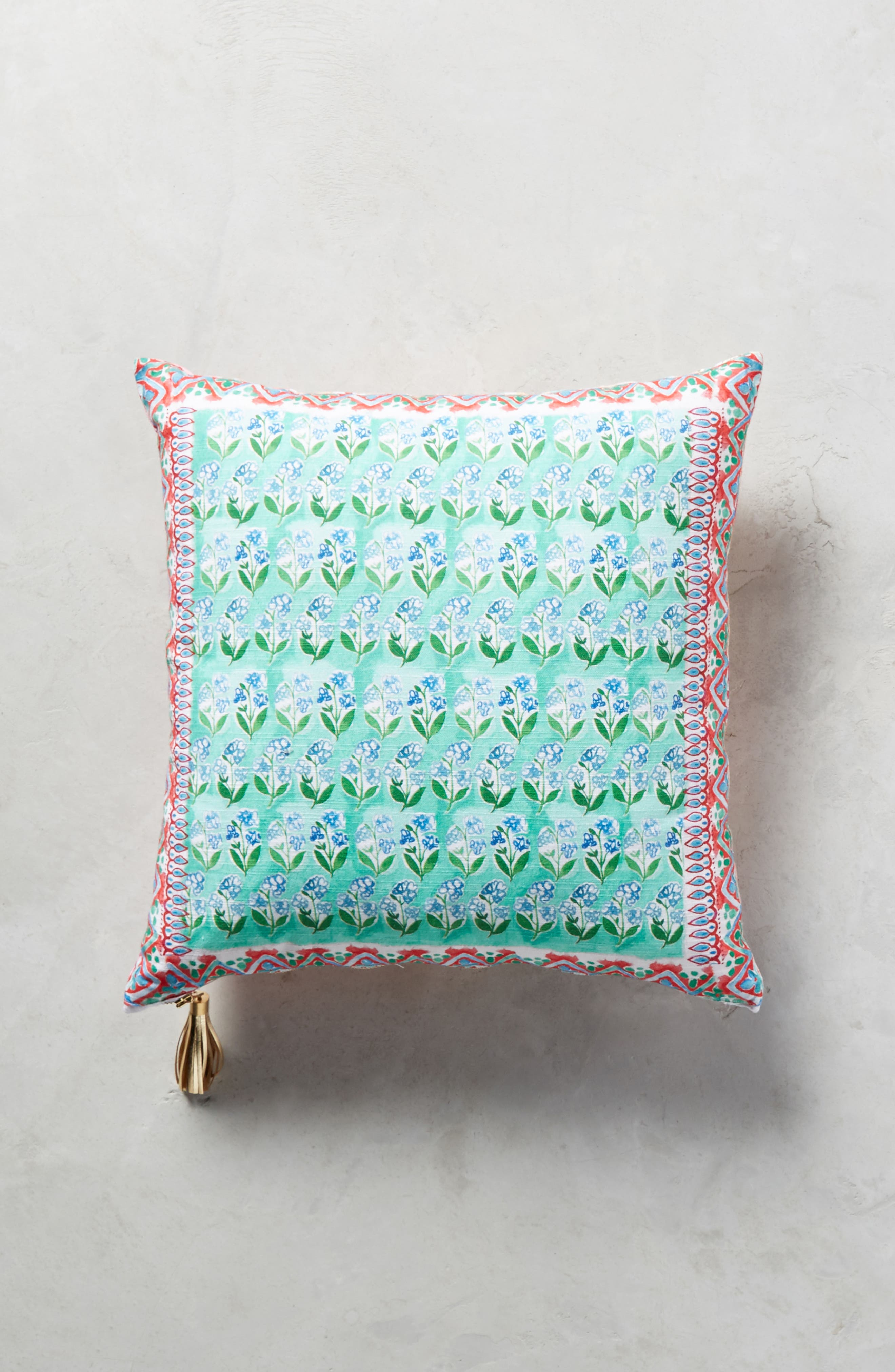 Tali Accent Pillow,                             Alternate thumbnail 2, color,                             Peach