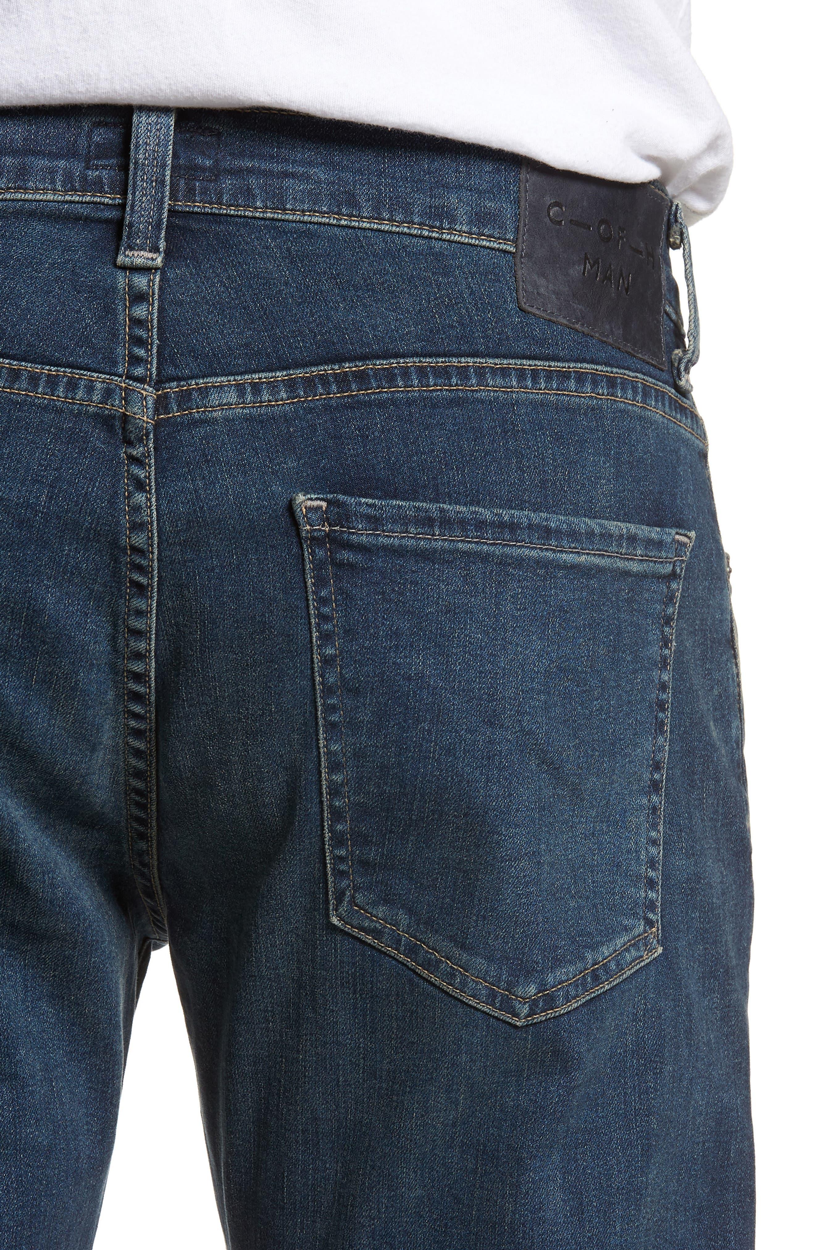 Core Slim Fit Jeans,                             Alternate thumbnail 4, color,                             Unison