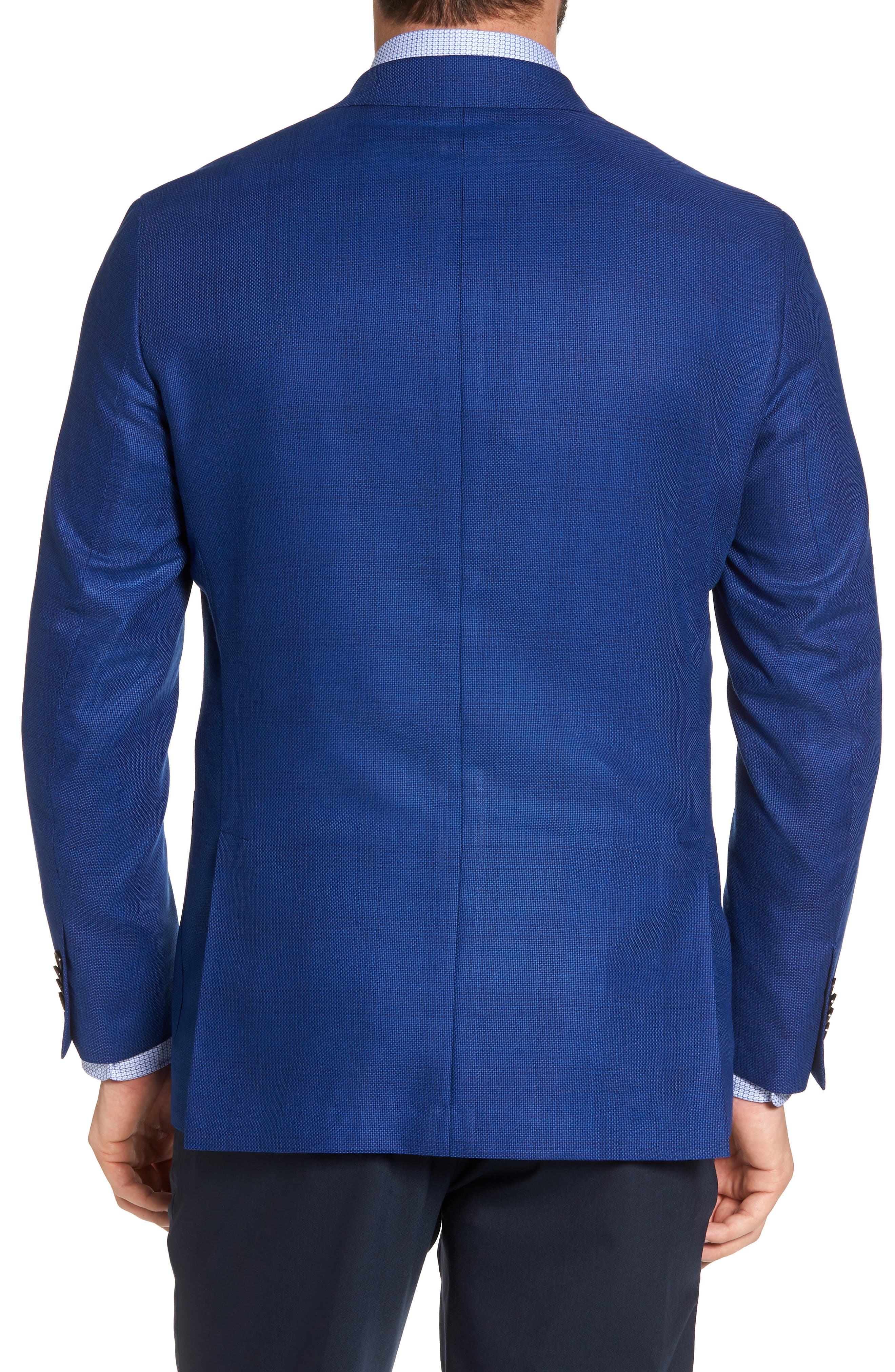 Aiden Classic Fit Sport Coat,                             Alternate thumbnail 2, color,                             Medium Blue