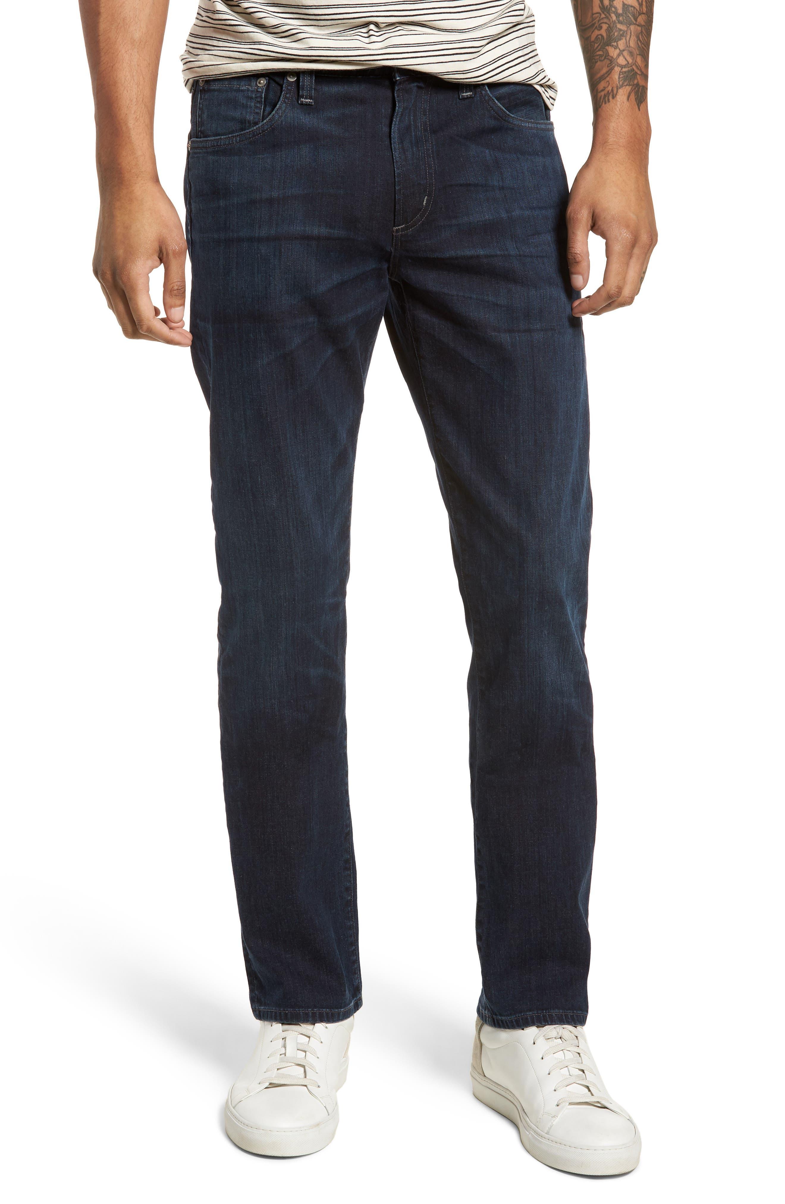 Gage Slim Straight Leg Jeans,                             Main thumbnail 1, color,                             Newman