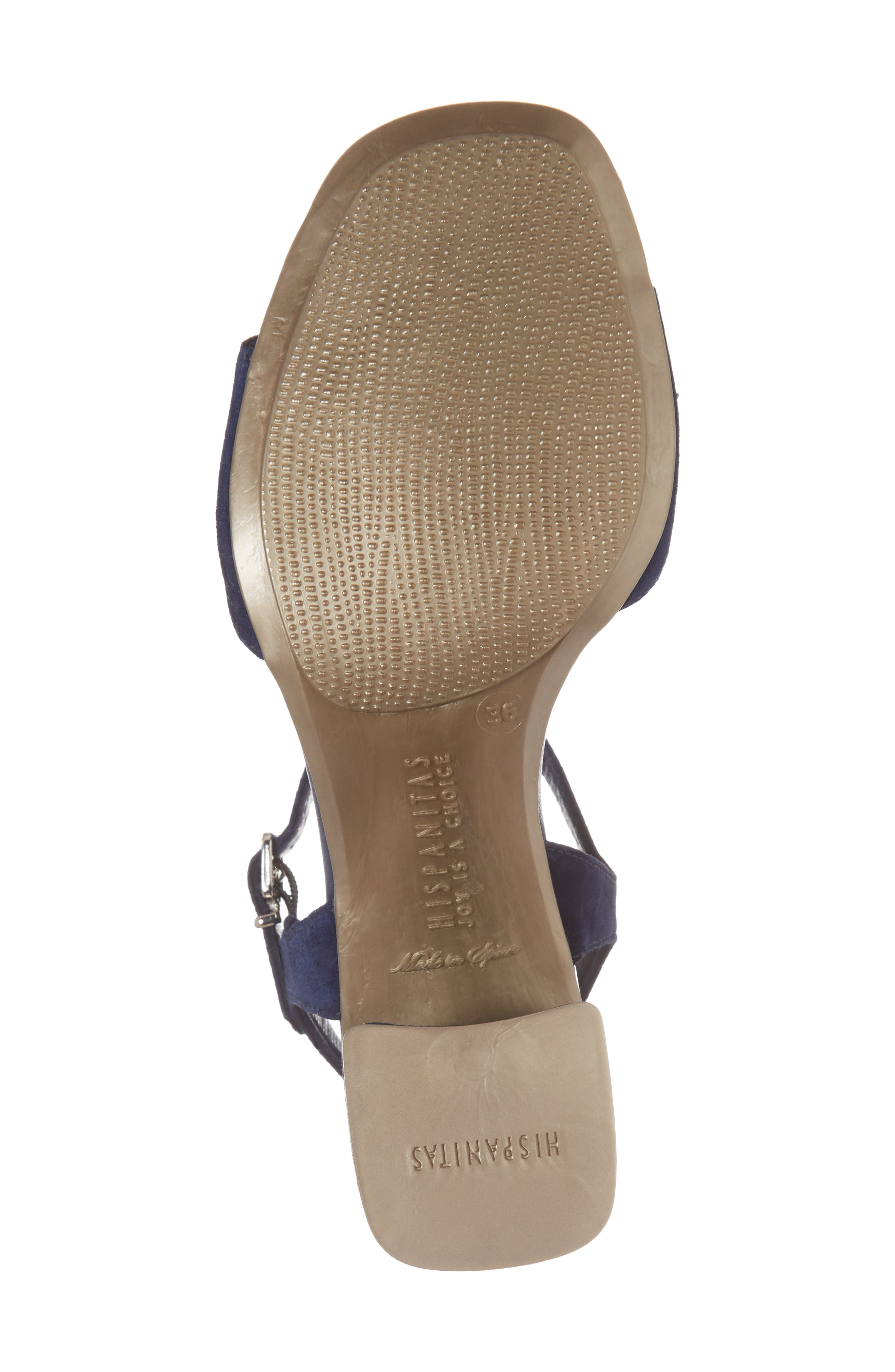Schulyer T-Strap Sandal,                             Alternate thumbnail 6, color,                             Jeans Leather