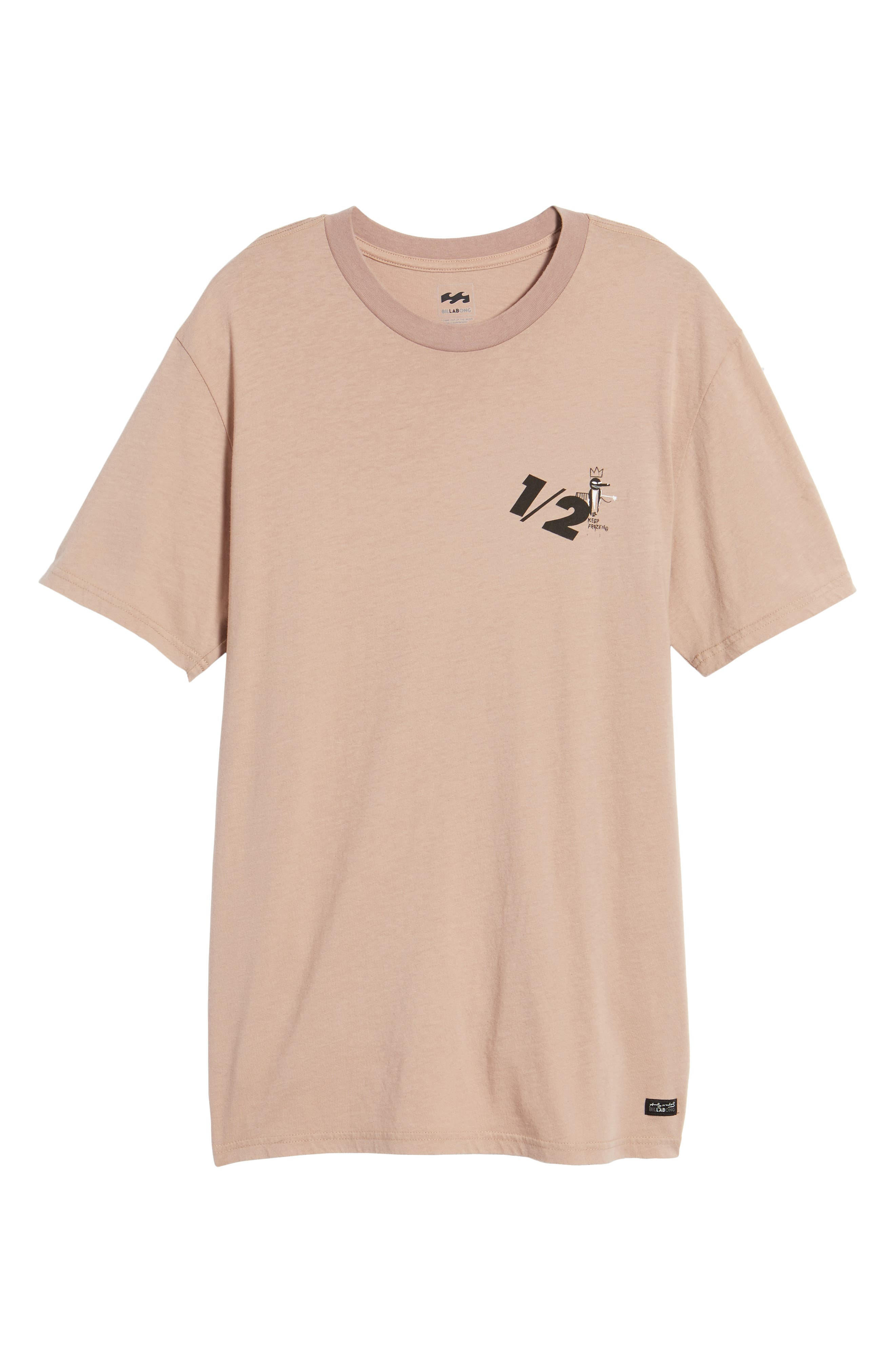 x Warhol Half T-Shirt,                             Alternate thumbnail 6, color,                             Ash Rose