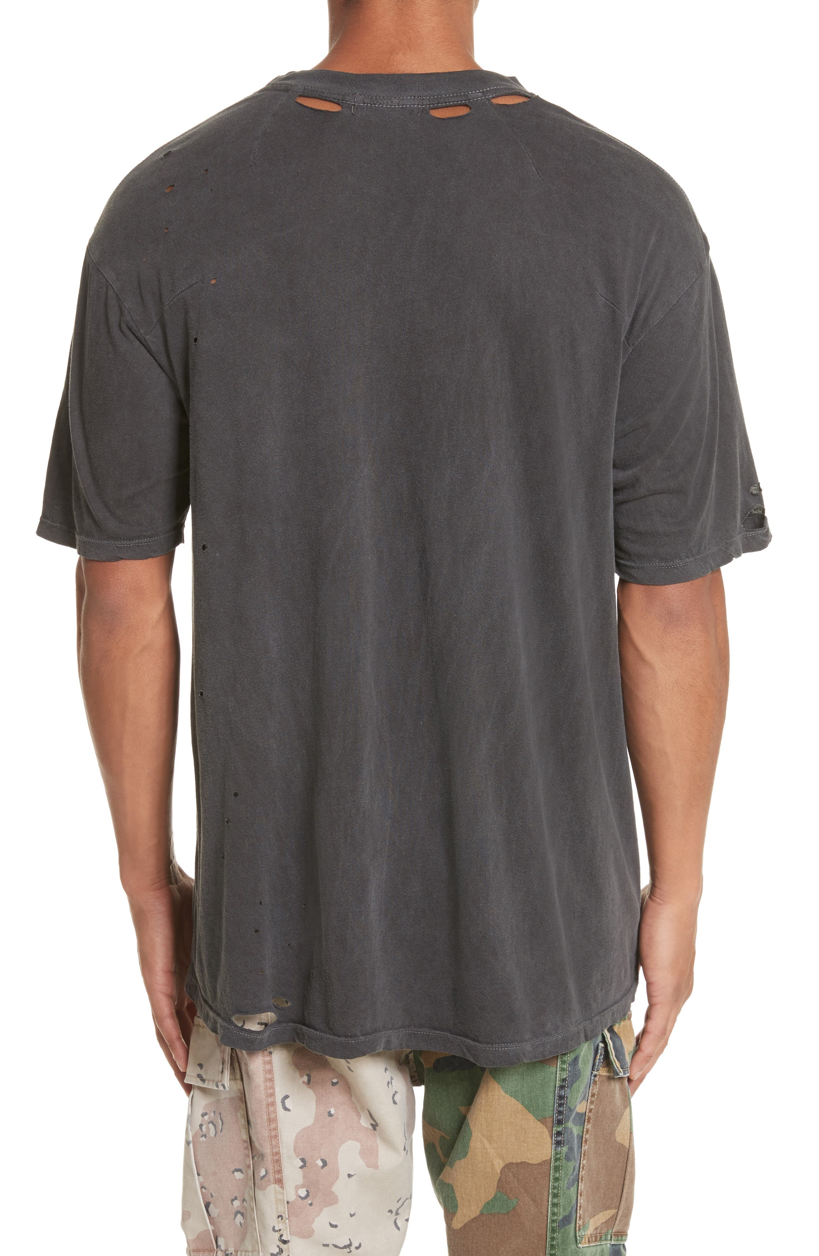Alternate Image 2  - Drifter Cobain Distressed Oversize T-Shirt