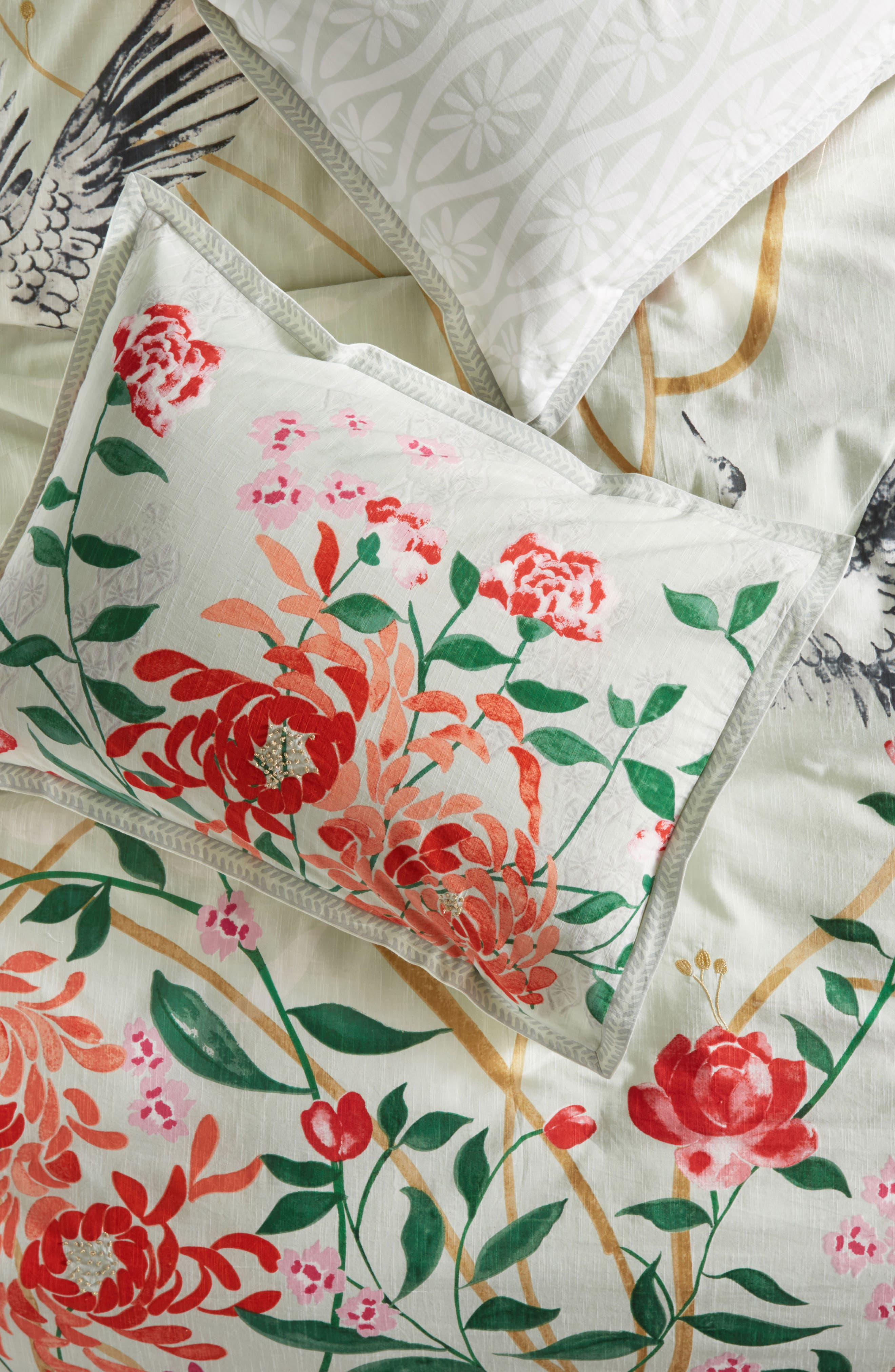 Anthropologie Wicklow Pillow Shams