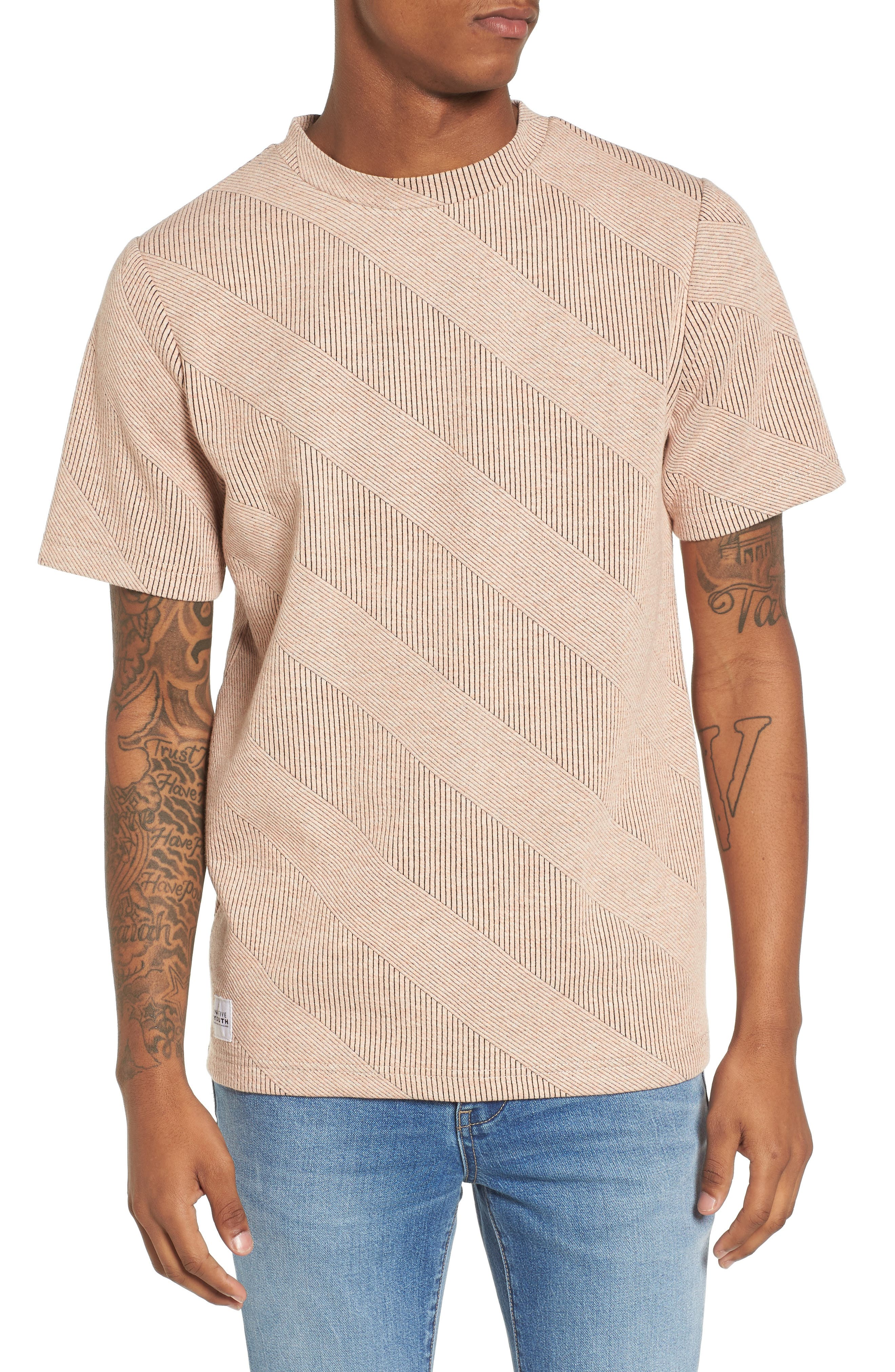 Biota T-Shirt,                             Main thumbnail 1, color,                             Coral