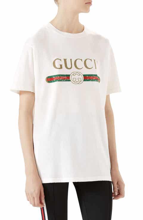 Gucci T Shirt Logo Kamos T Shirt