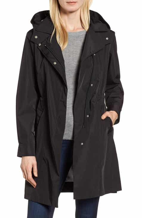0210afe9c1 Kristen Blake Tech Hooded Trench Coat (Regular   Petite)