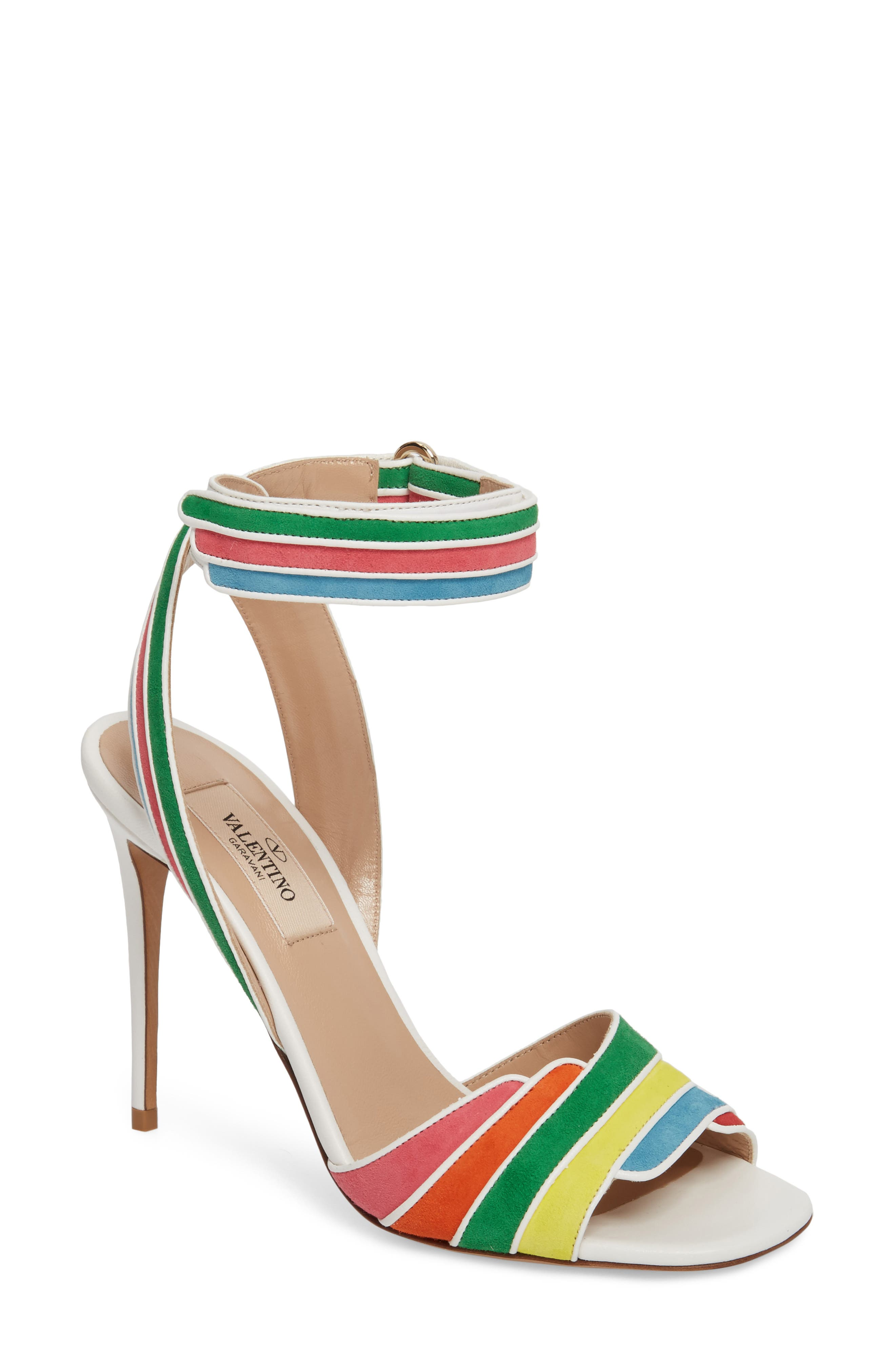 Main Image - VALENTINO GARAVANI Rainbow Sandal (Women)
