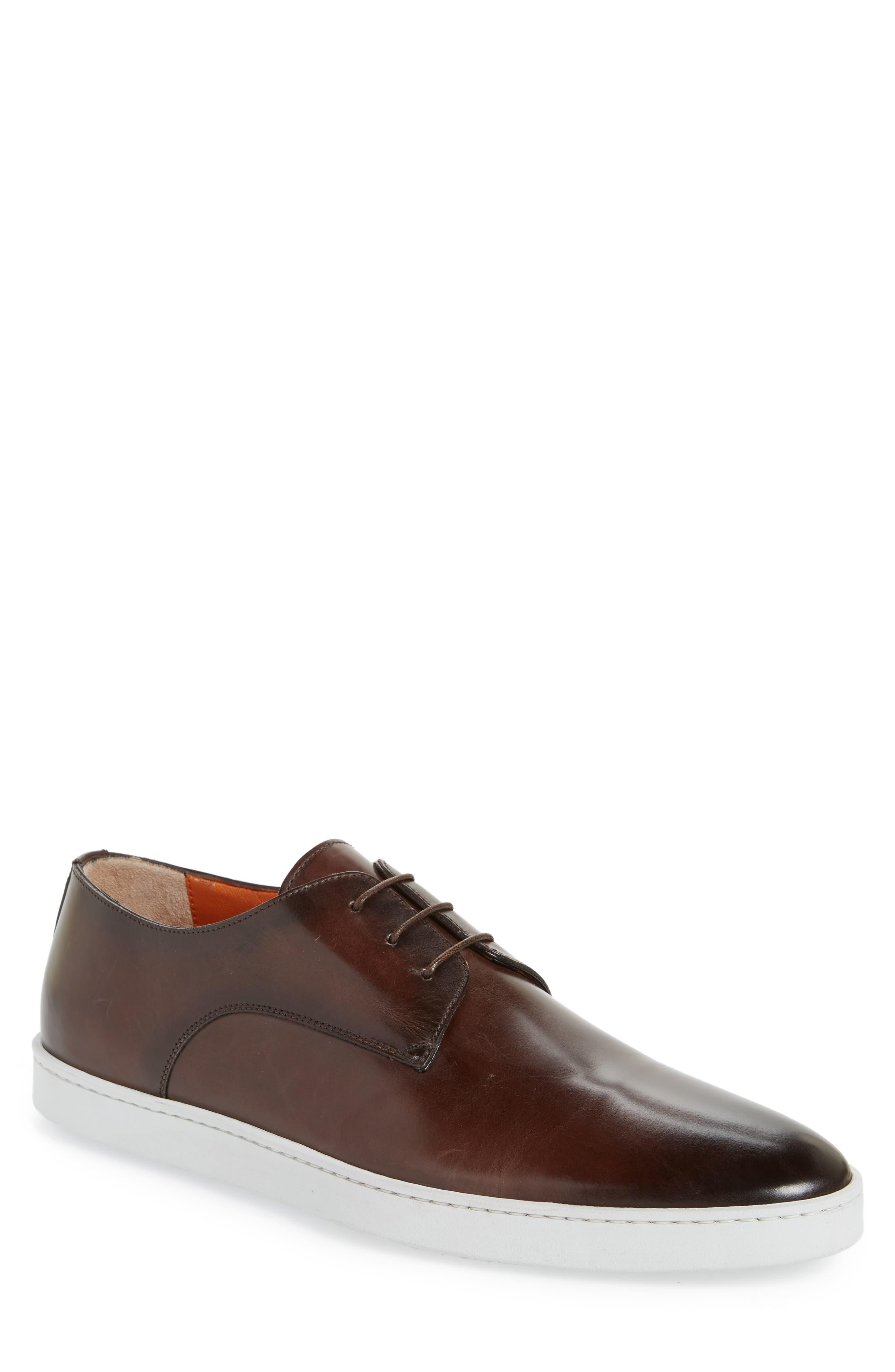 Doyle Plain Toe Derby,                         Main,                         color, Brown