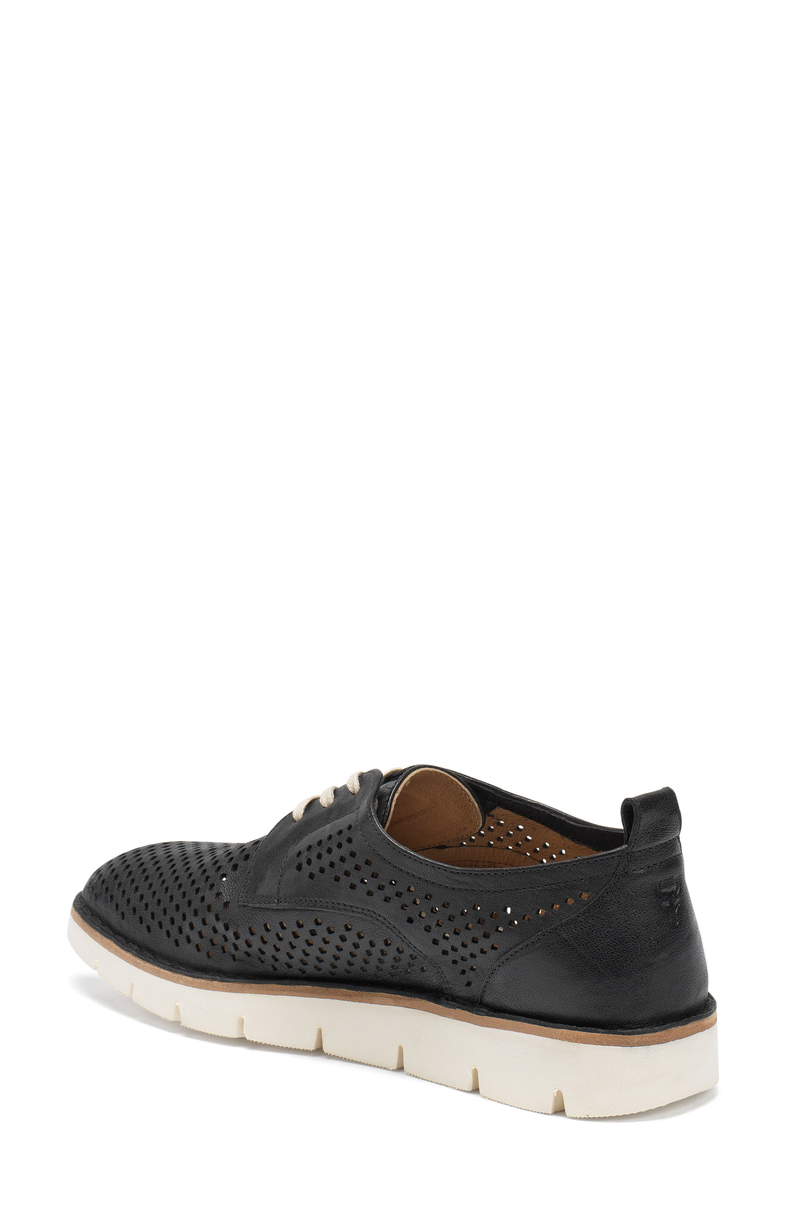 Lena Sneaker,                             Alternate thumbnail 2, color,                             Black Leather