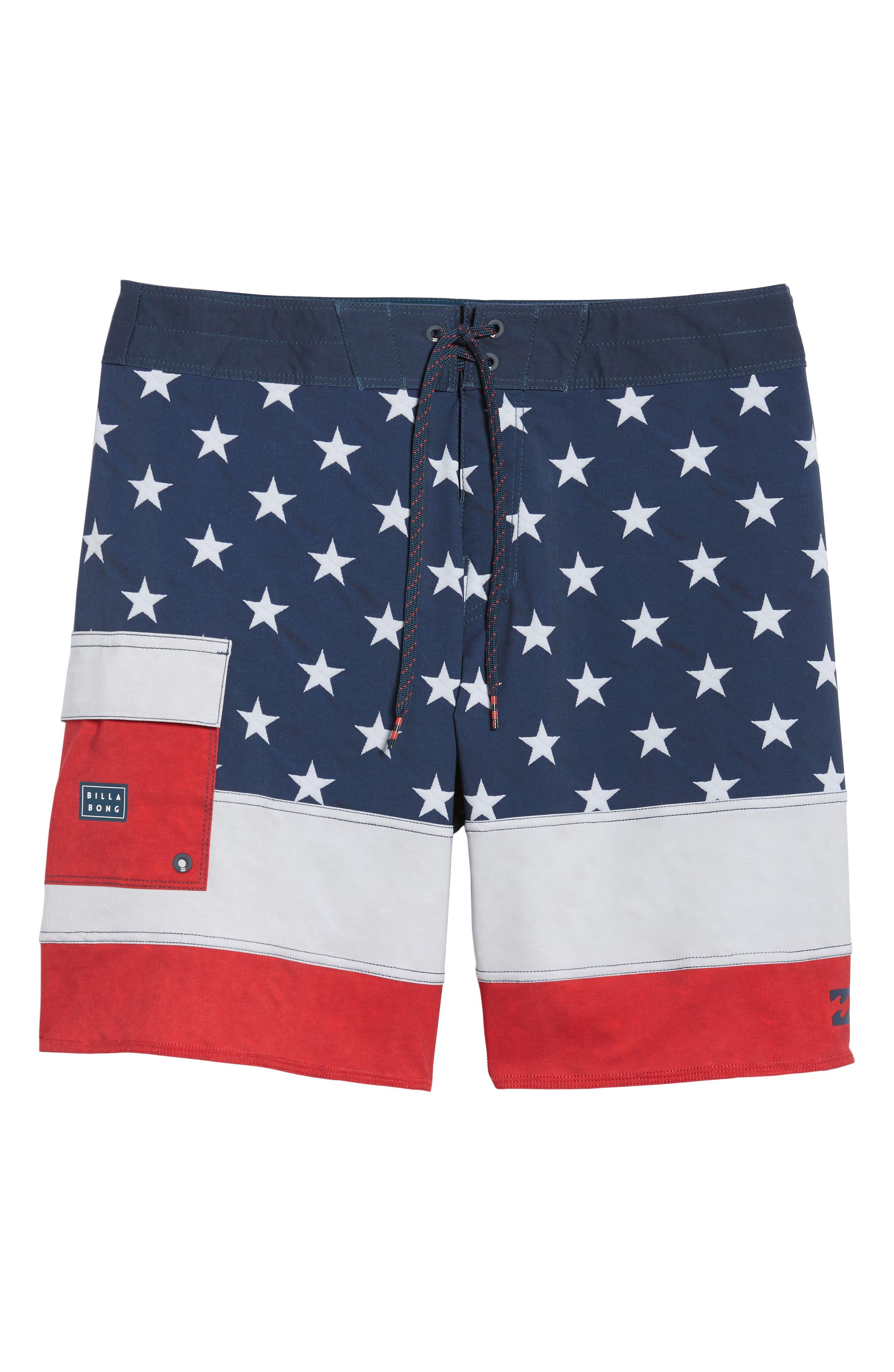 Pump X Board Shorts,                             Alternate thumbnail 6, color,                             Navy