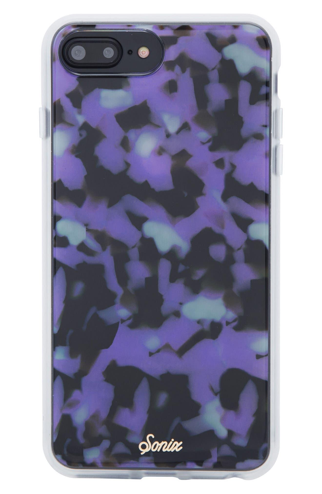 Sonic Terrazzo Lilac iPhone 6/6s/7/8 & 6/6s/7/8 Plus Case,                         Main,                         color, Lilac