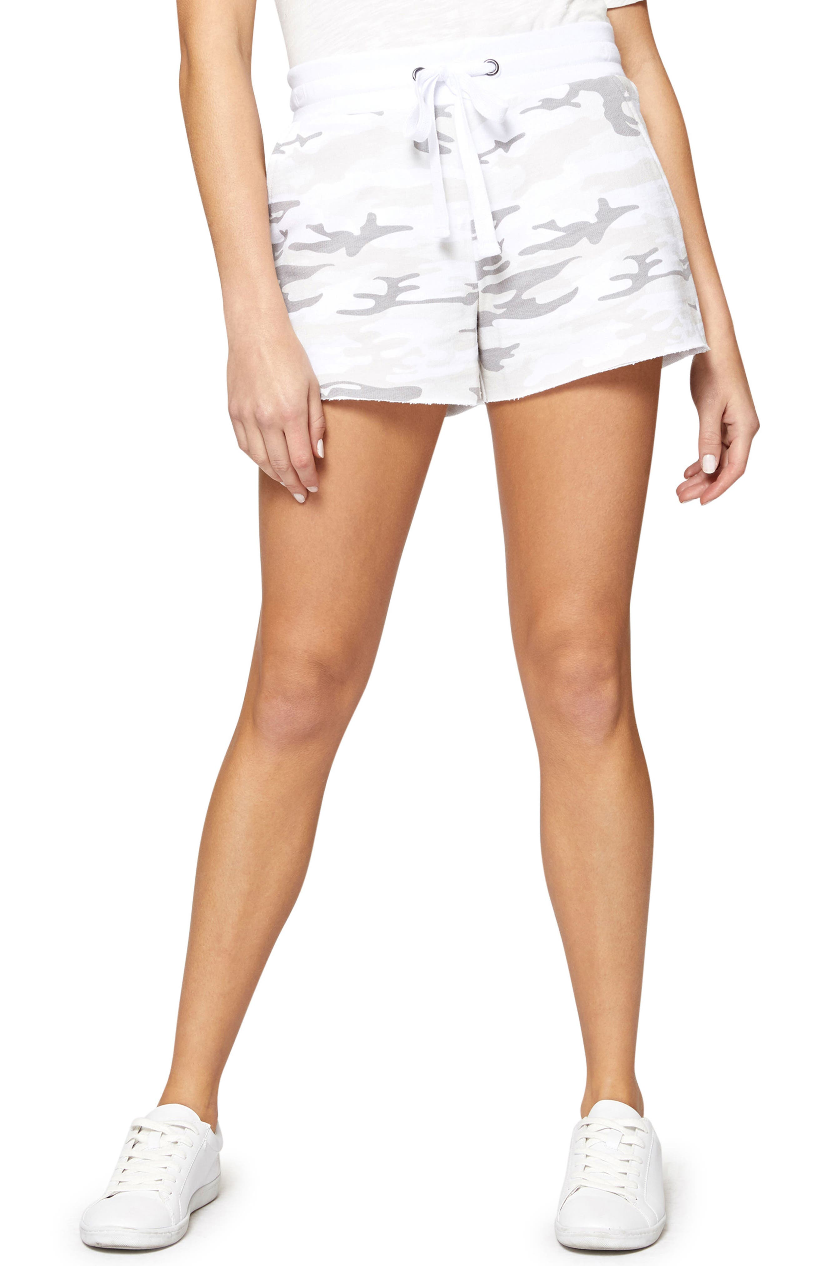 Sanctuary French Terry Drawstring Shorts