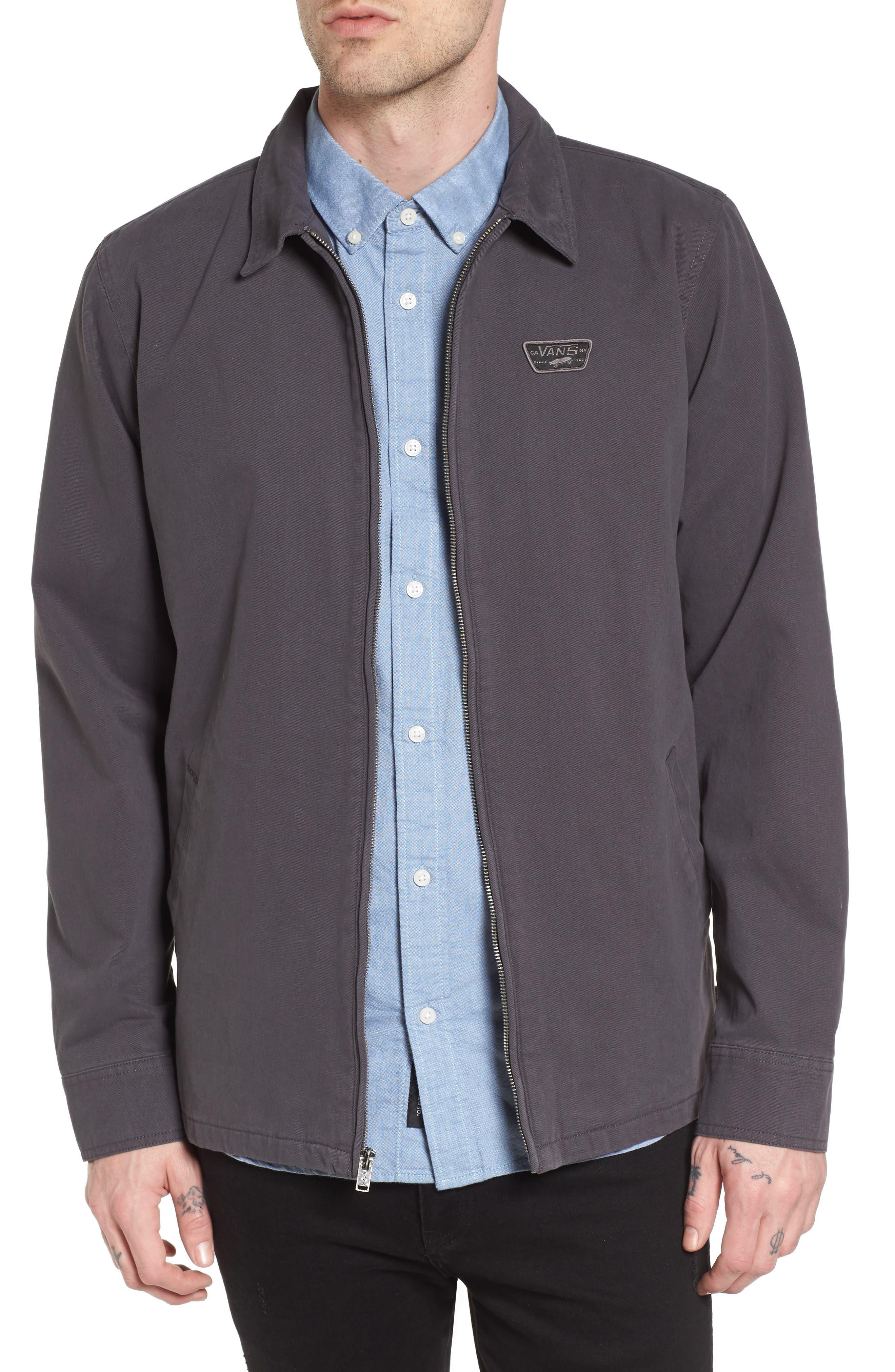 Belfair II Garage Jacket,                             Main thumbnail 1, color,                             Asphalt