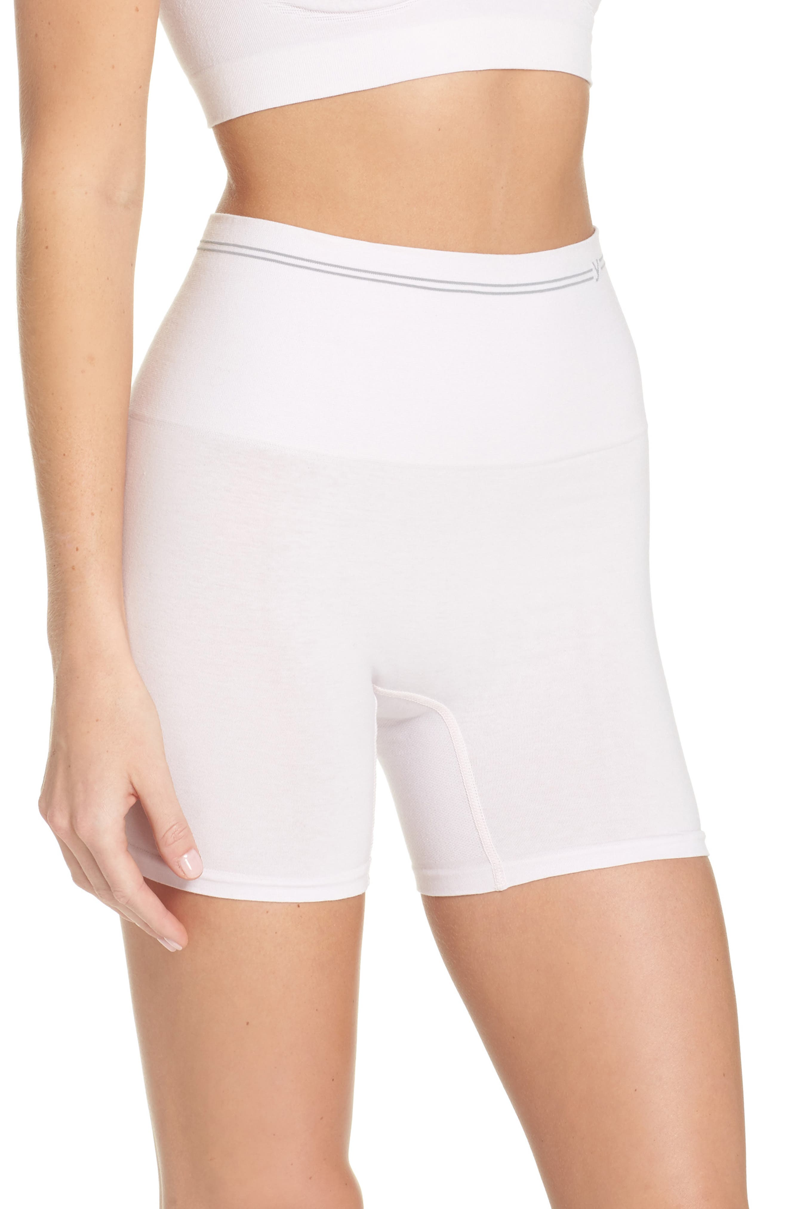 Seamless Shaping Shorts,                             Alternate thumbnail 3, color,                             Orchid Ice