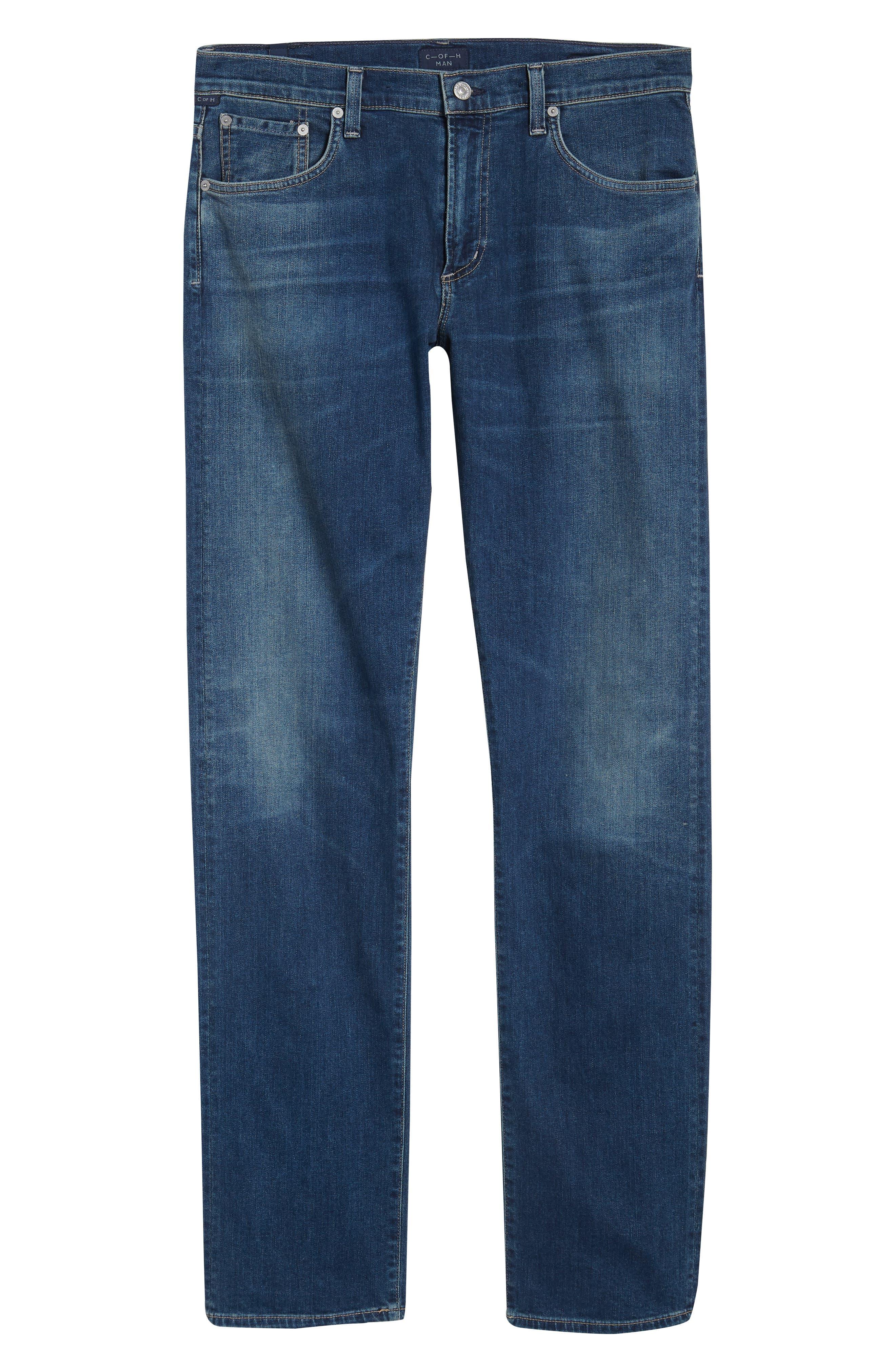 Core Slim Fit Jeans,                             Alternate thumbnail 6, color,                             Unison
