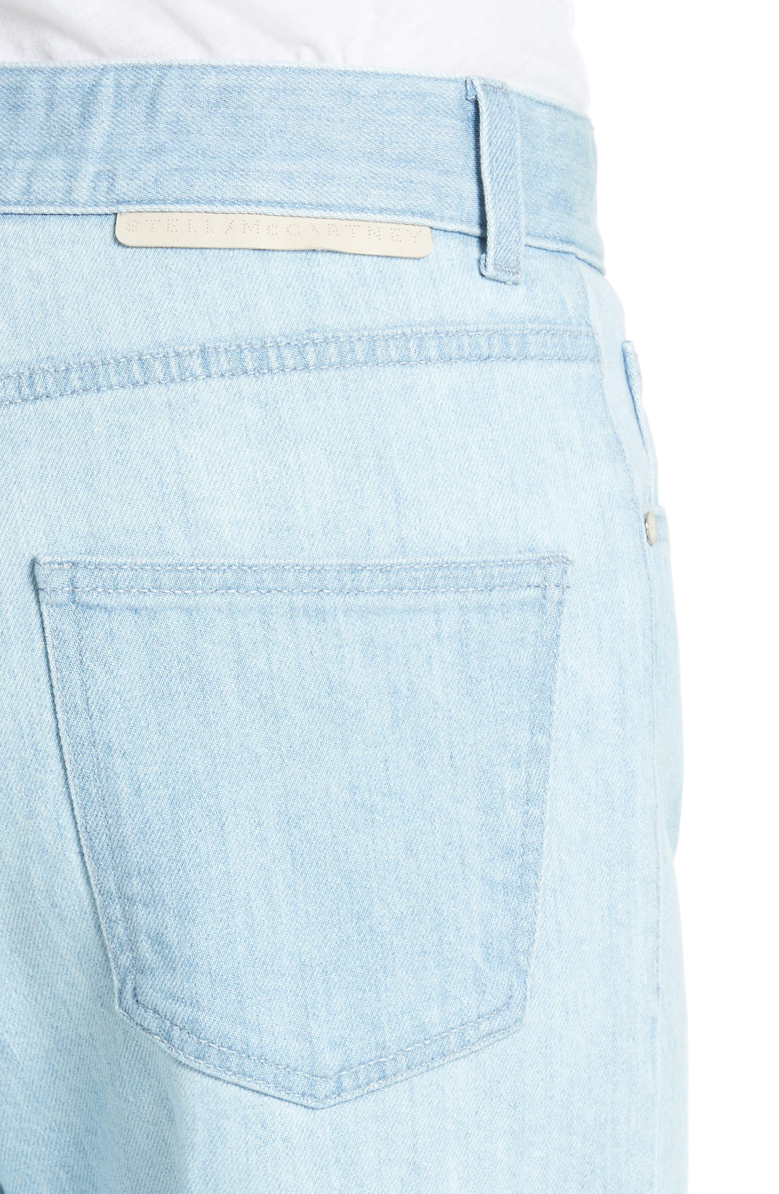 Tie Dye Boyfriend Jeans,                             Alternate thumbnail 5, color,                             Light Blue