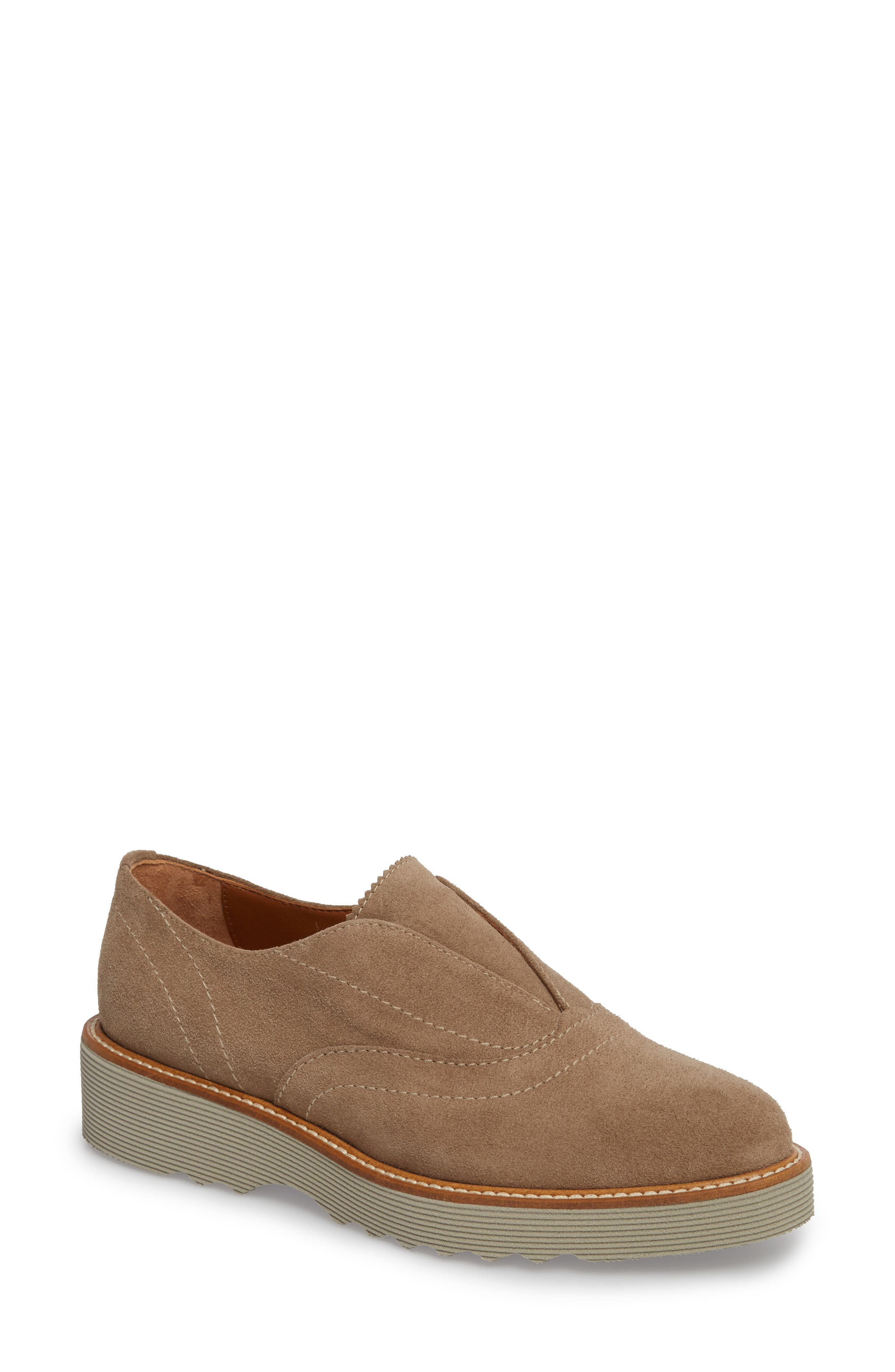 Kaleigh Weatherproof Loafer,                             Main thumbnail 1, color,                             Taupe