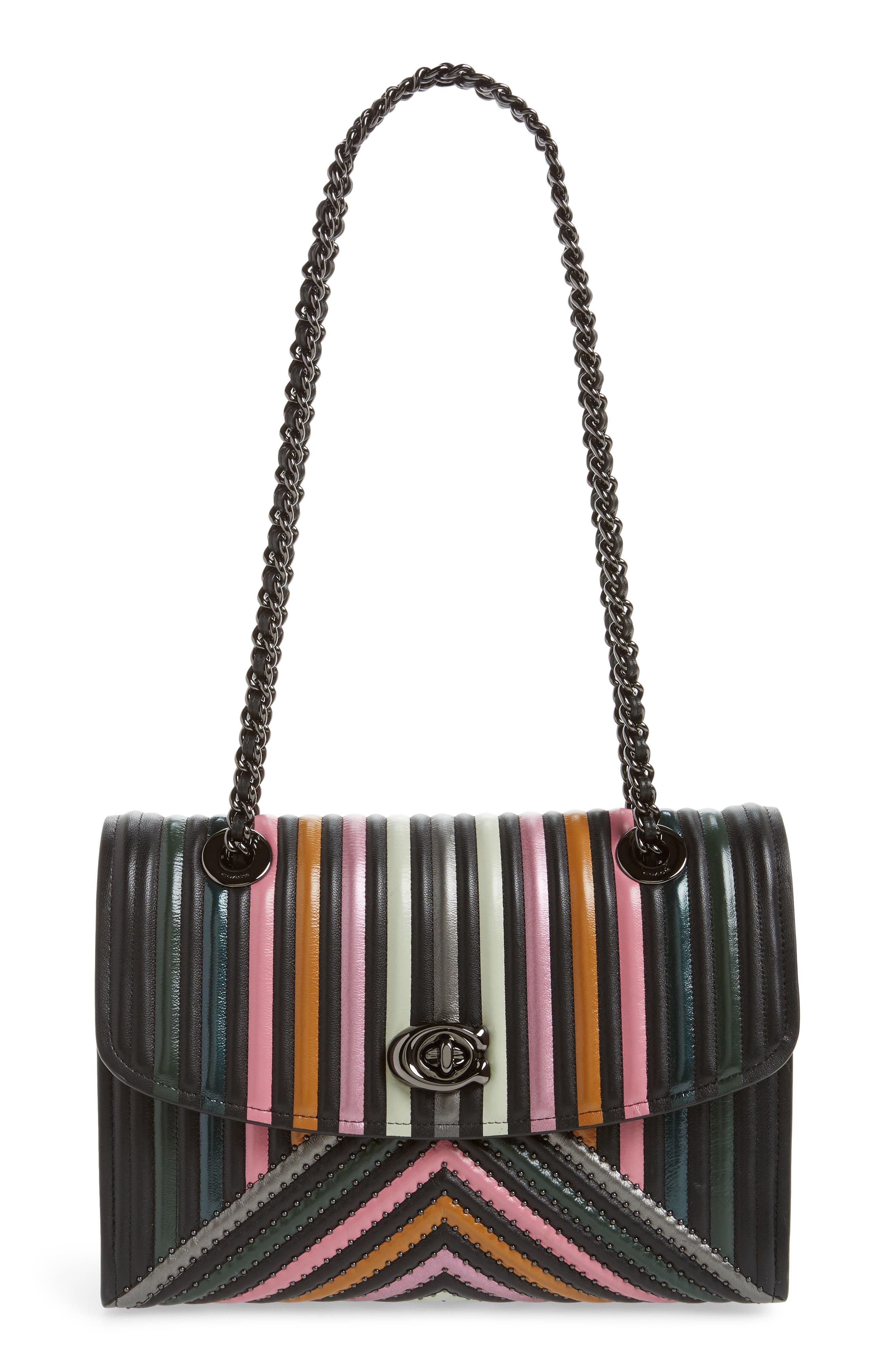 COACH Parker Quilted Leather Shoulder Bag