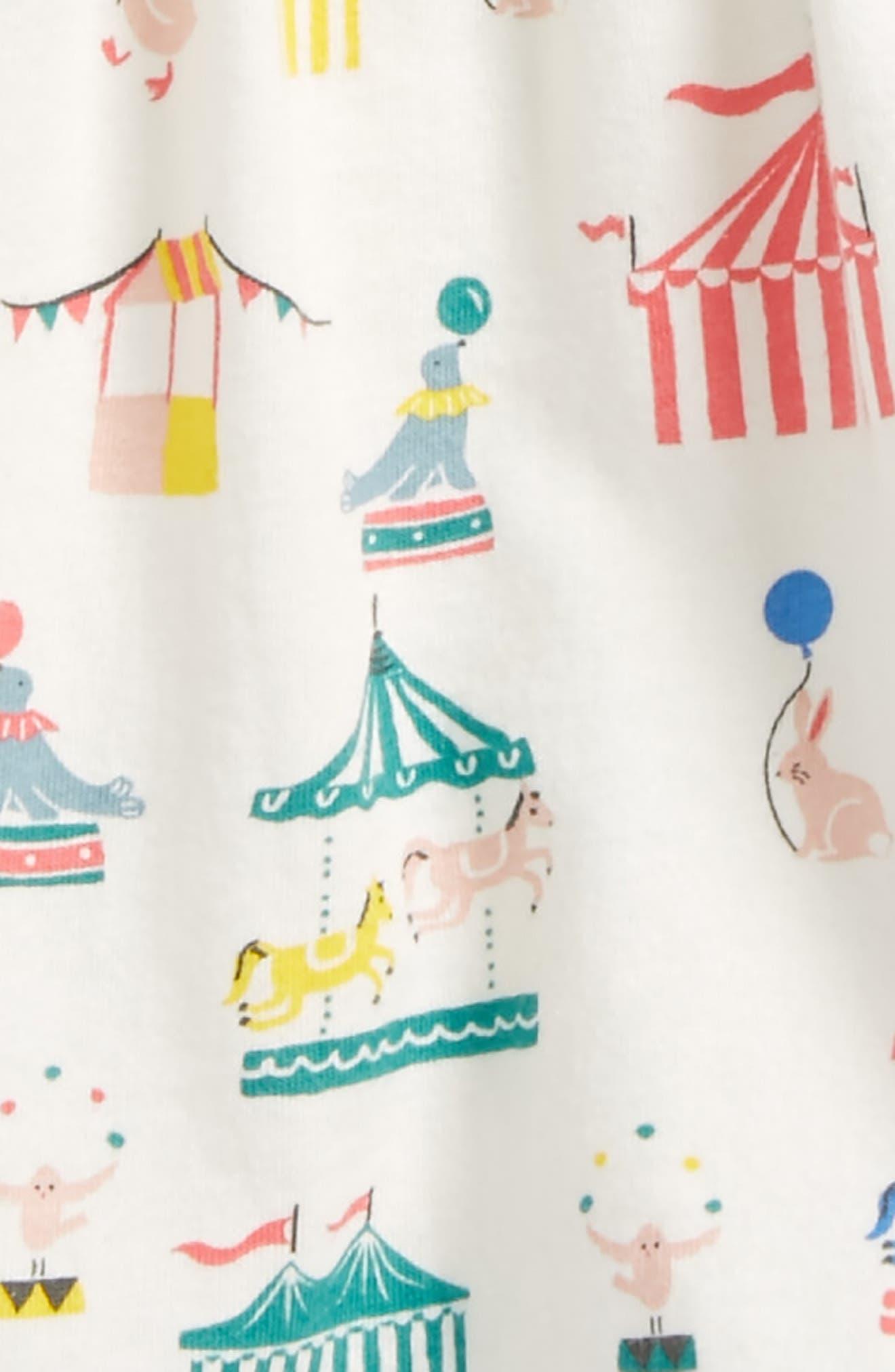 Print Jersey Dress,                             Alternate thumbnail 2, color,                             Circus
