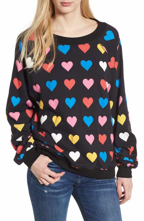Wildfox Have a Heart Sommers Sweatshirt